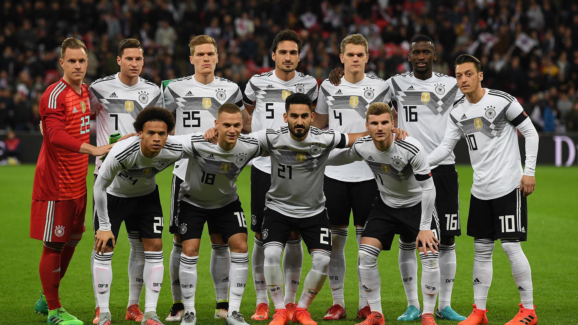 Con un promedio de edad de 26 años, el valor de Alemania es de 748,70 millones de dólares