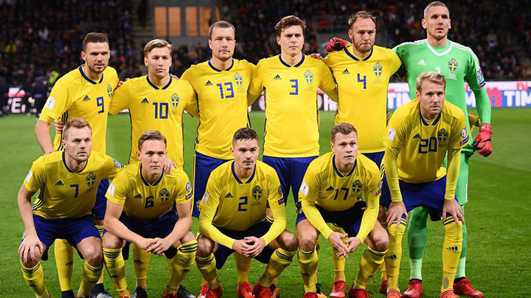 Con un promedio de edad de 27 años , el valor de Suecia es de 122,52 millones de dólares