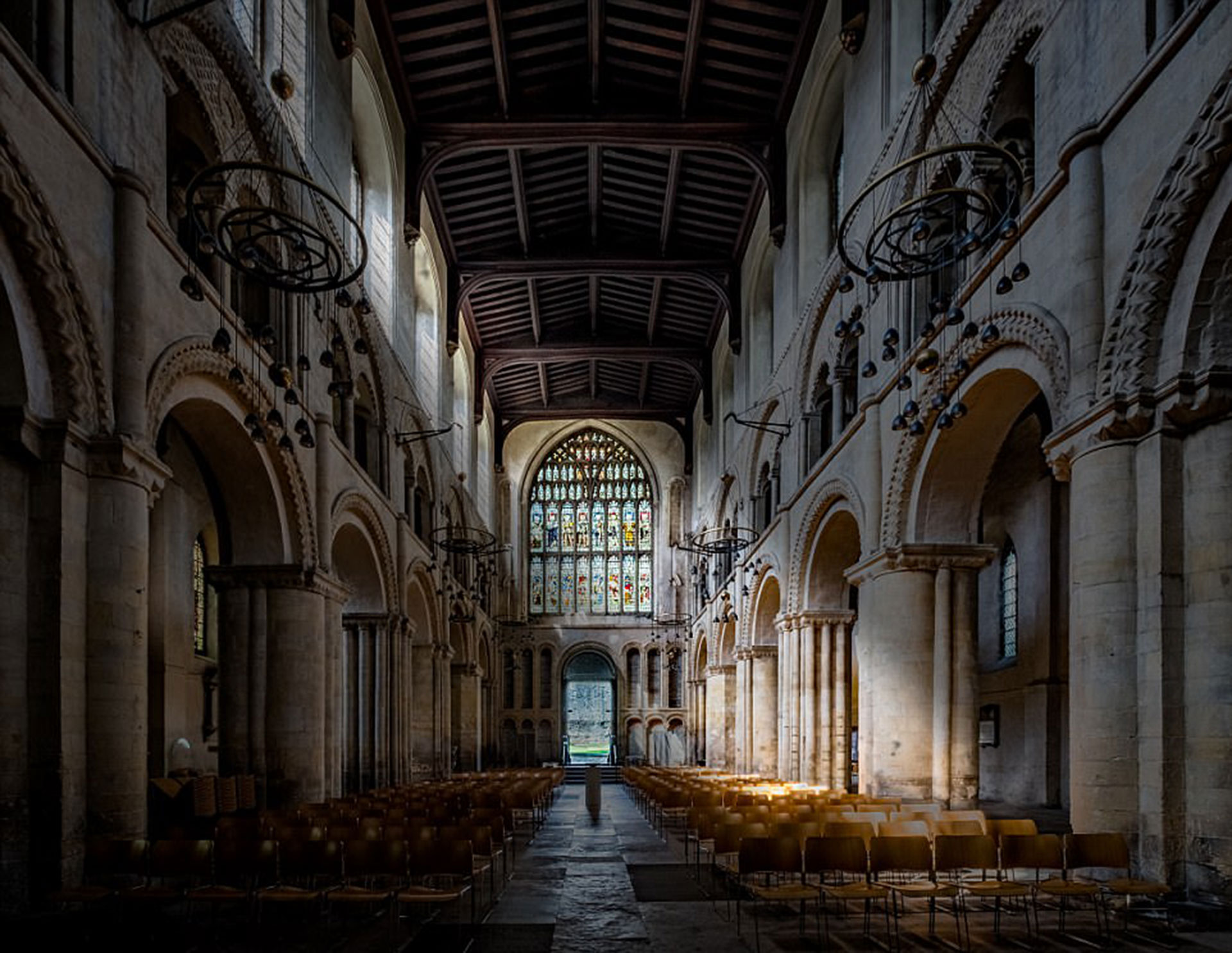 La Catedral de Rochester por Paul Parkinson