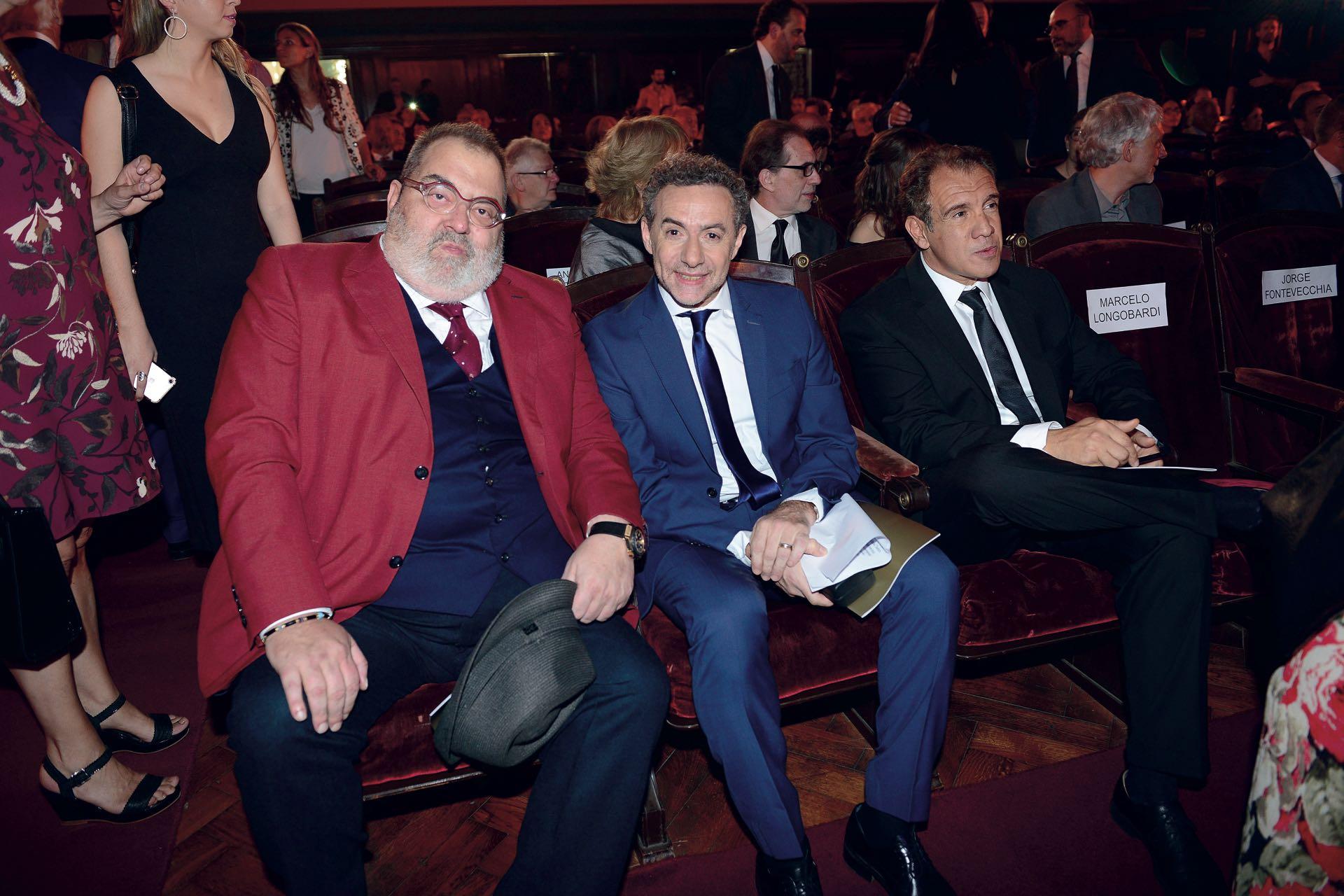 Jorge Lanata (Labor Televisiva), Luis Majul (Producción Periodística) y DanielHadad (Emprendimientos Digitales, por Infobae). Foto: Diego Soldini /GENTE