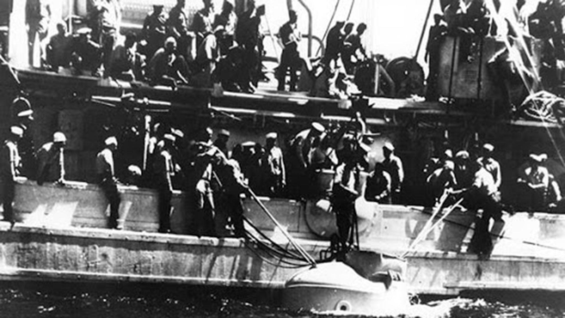 El rescate de los 33 hombres que sobrevivieron a la tragedia del Squalus