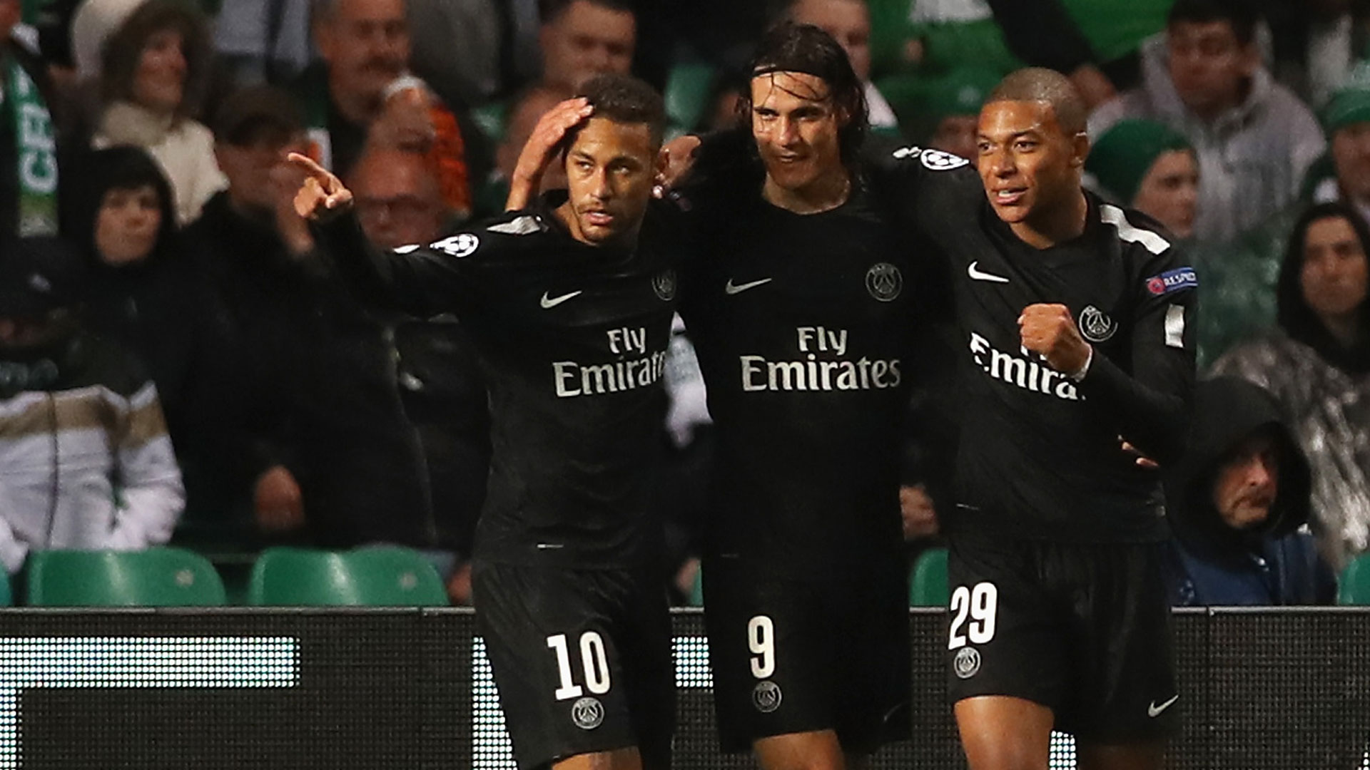 Neymar, Cavani y Mbappé son las grandes figuras de Paris Saint Germain (Getty Images)