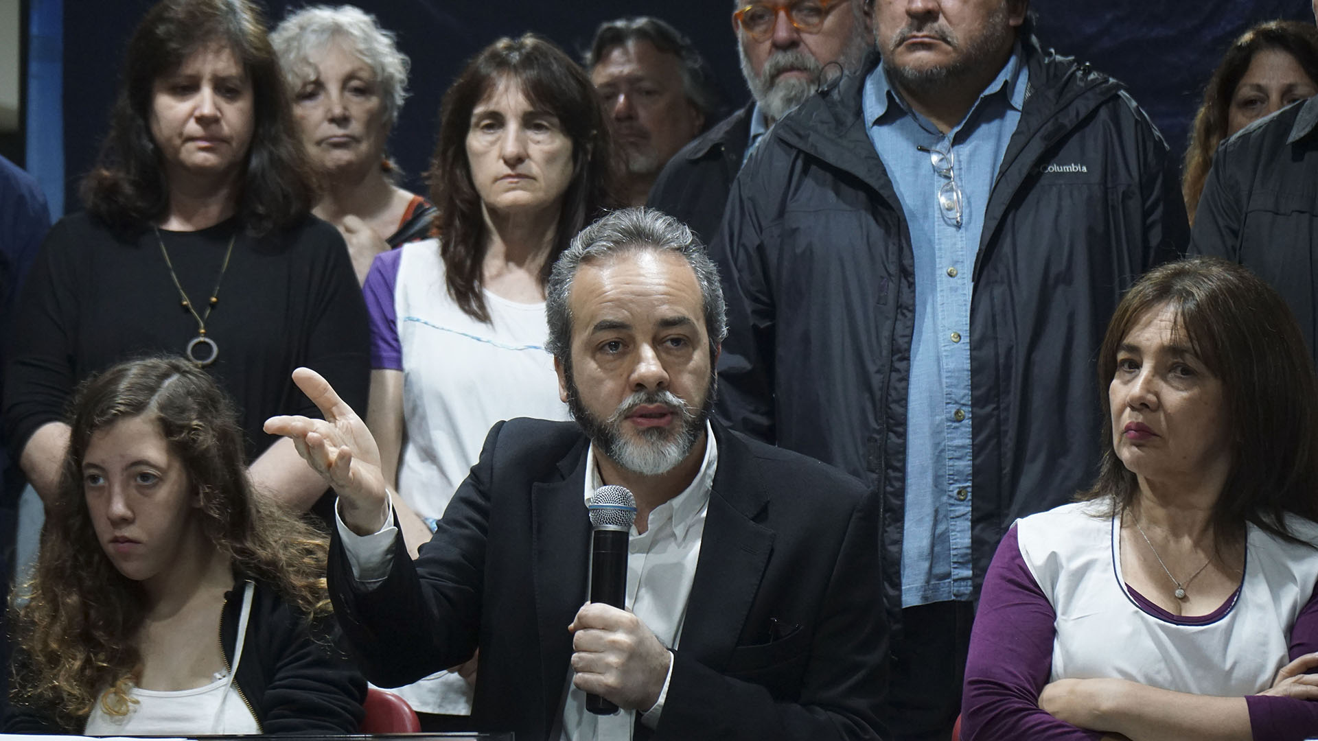 Eduardo López, secretario general de UTE (NA)