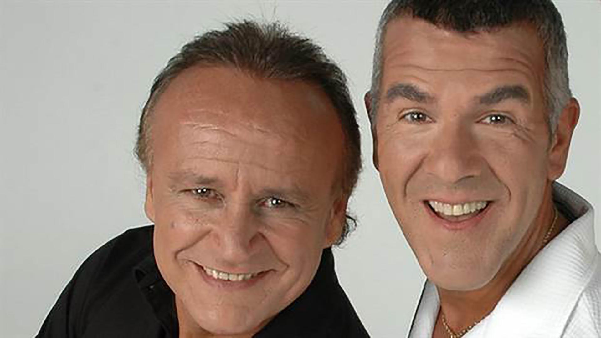 Dady Brieva y Miguel del Sel