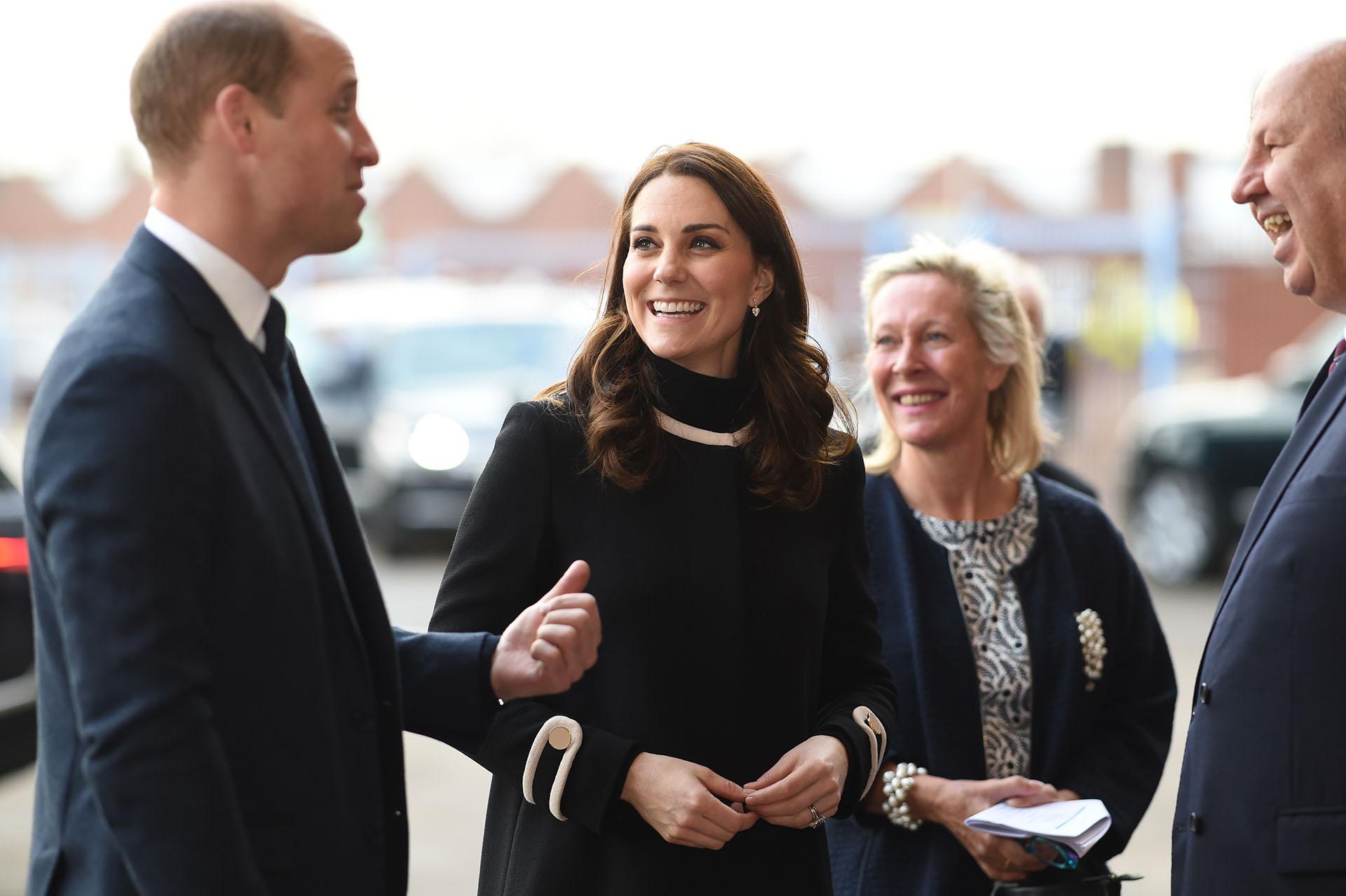 Algunos medios ingleses habrían asegurado que la esposa de Guillermo de Inglaterra podría estar esperando gemelos