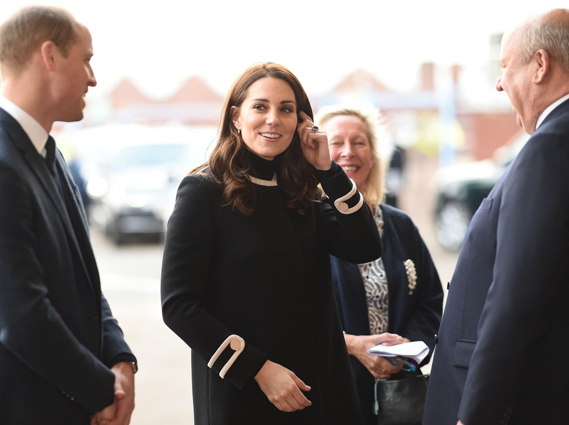 La pareja real ya tiene dos hijos: los príncipes George, de 4 años, y Charlotte, de 2