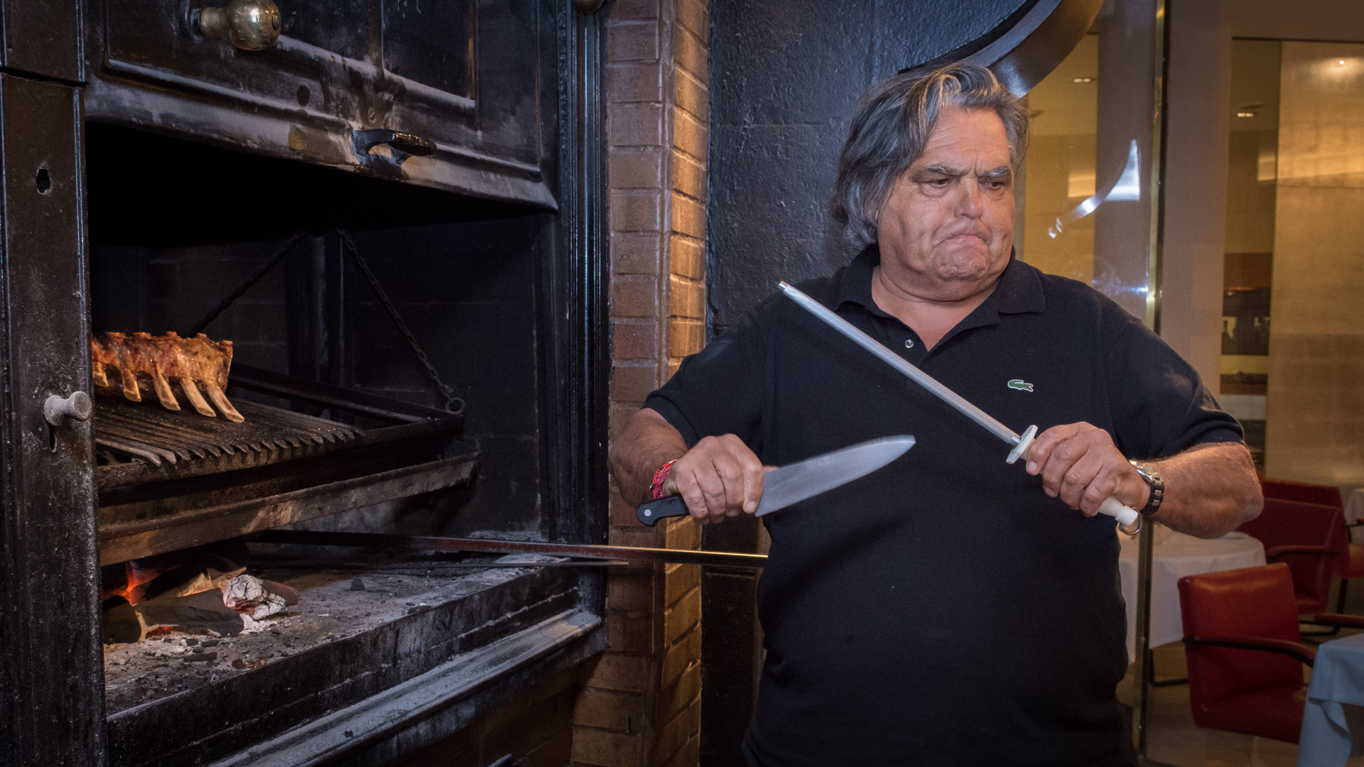 El prestigioso chef franc s de la bourgogne habl con for Chef en frances