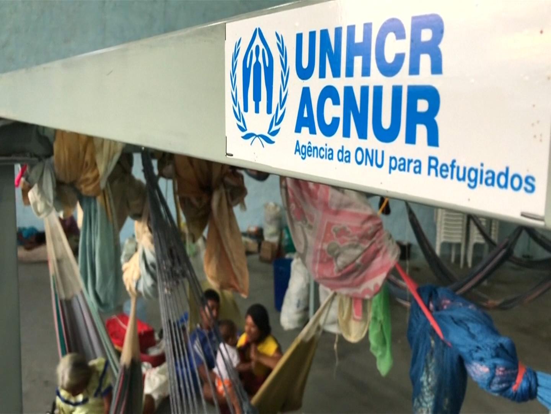 La ACNUR cobija a indígenas venezolanos refugiados en Brasil
