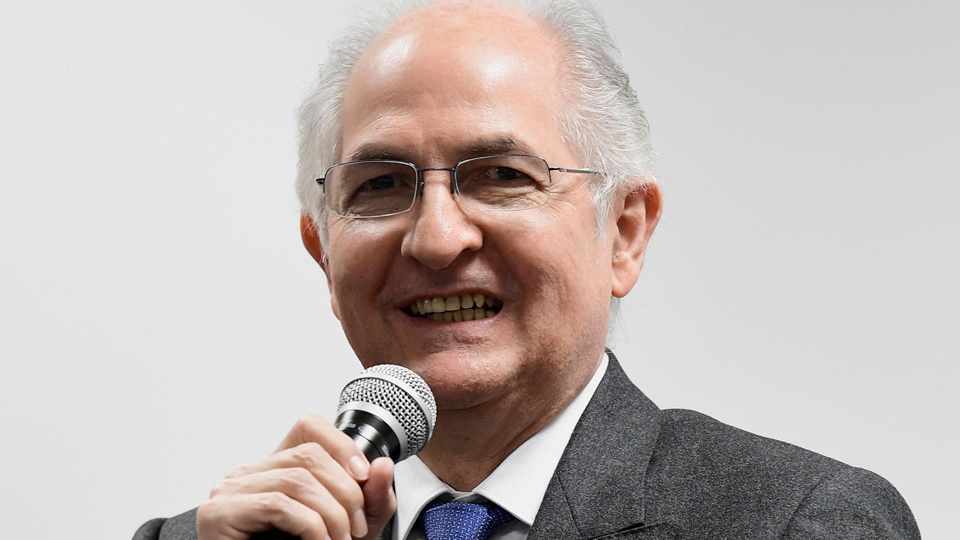 Antonio Ledezma (AFP)
