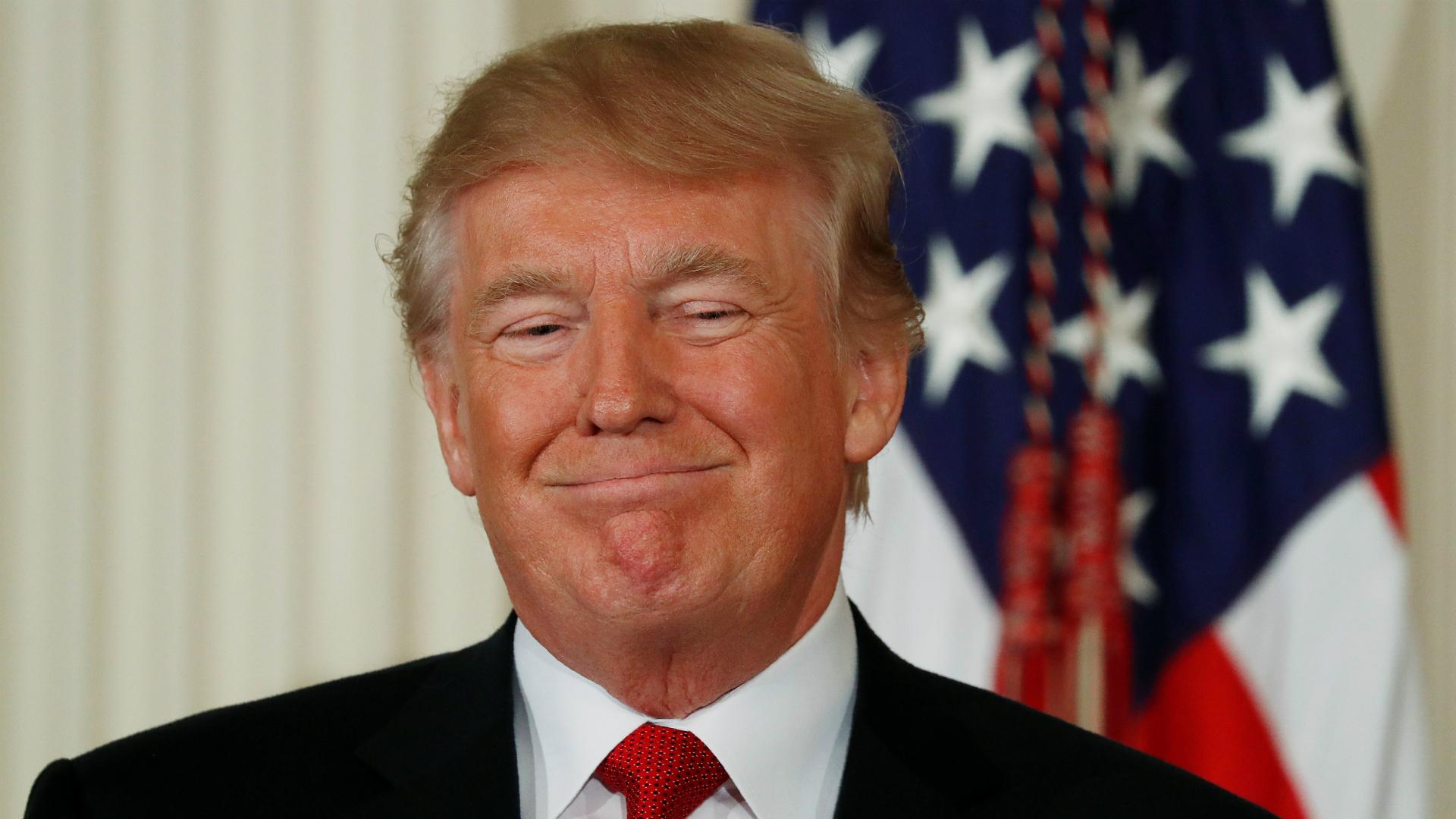 El presidente estadounidense Donald Trump