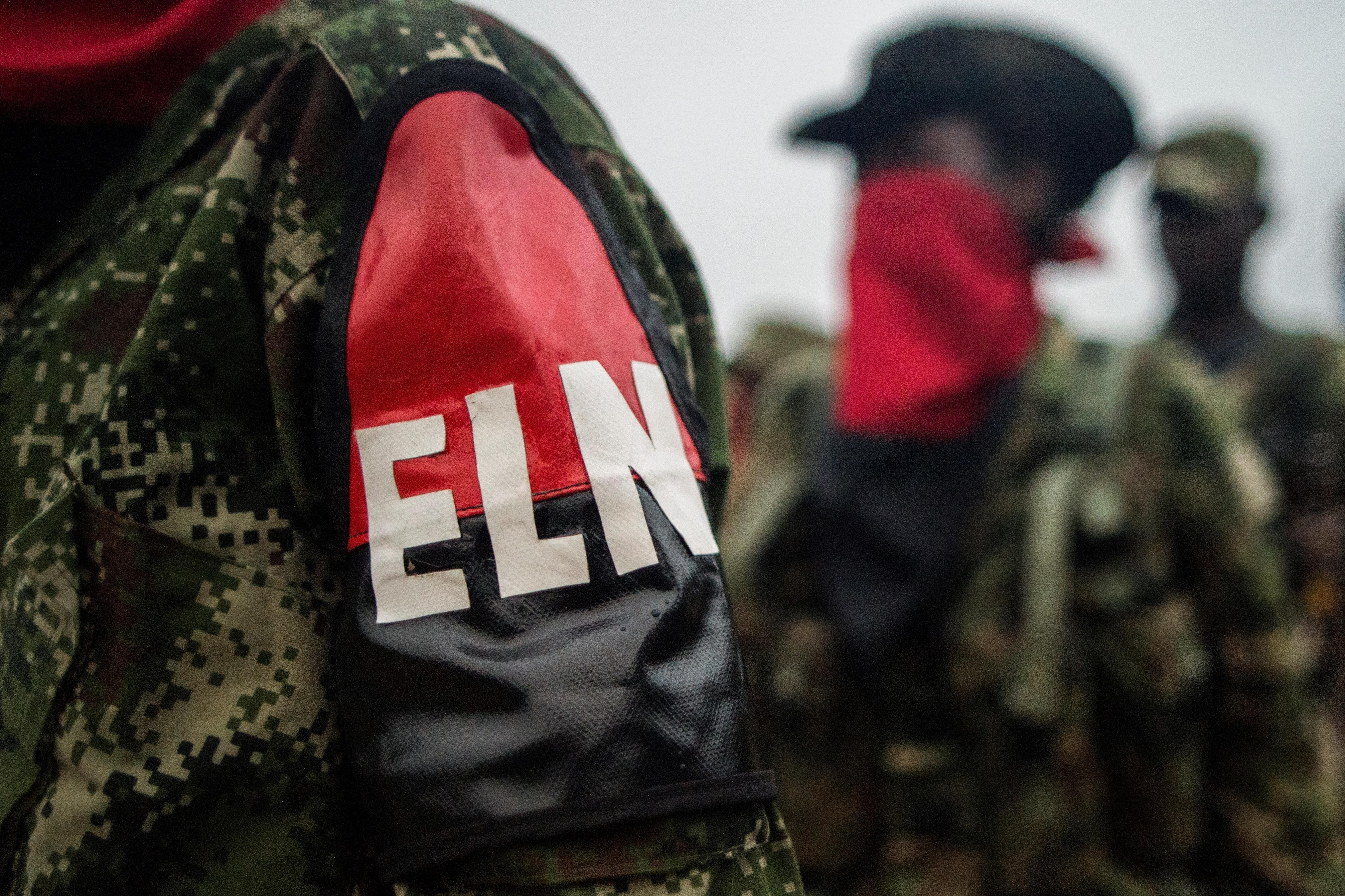 Guerrilleros del ELN (AFP)