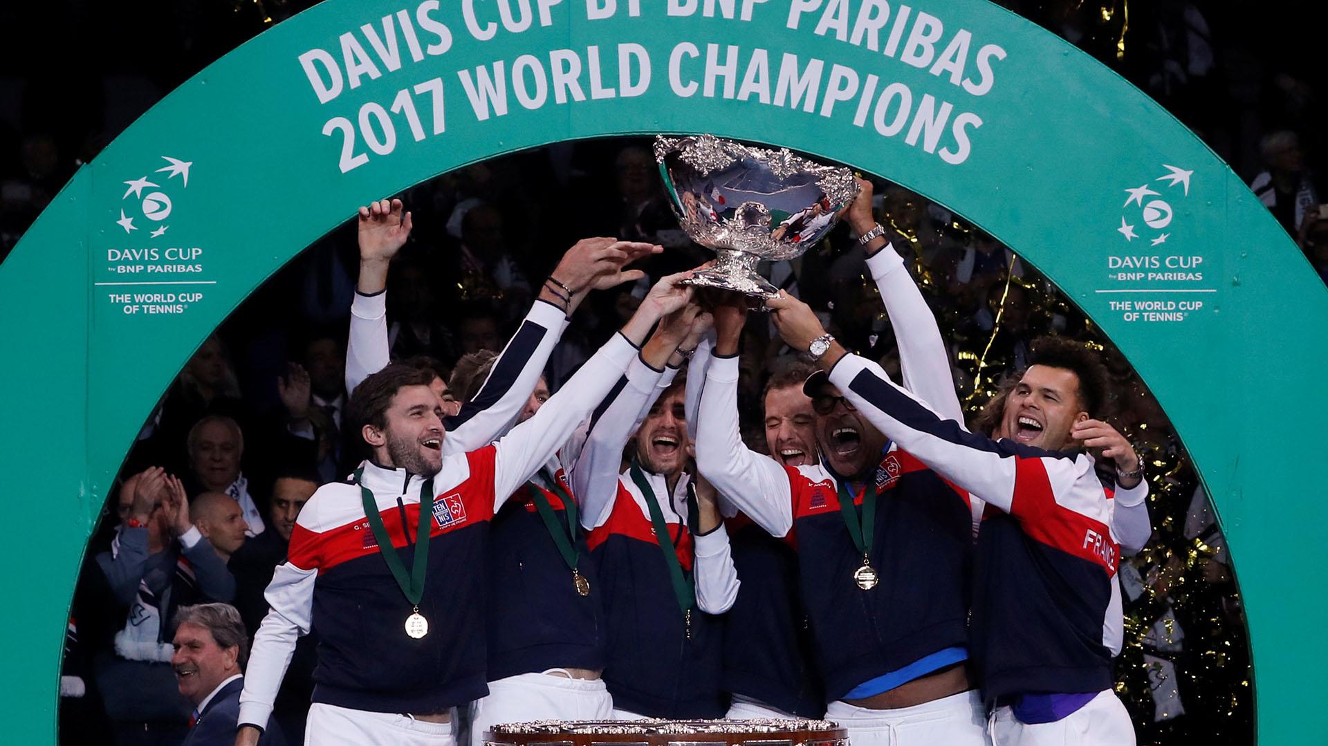 Francia se coronó campeón de la última edición de la Copa Davis