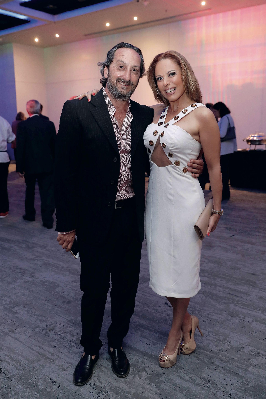 Iliana Calabró y su pareja, el empresario Antonello Grandolfo. Foto: Francisco Trombetta/GENTE