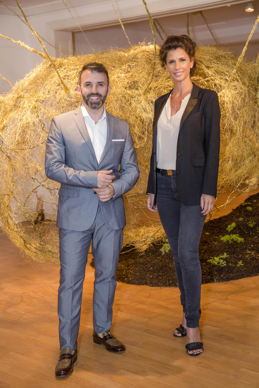 Marcelo Toledo y Analía Maiorana