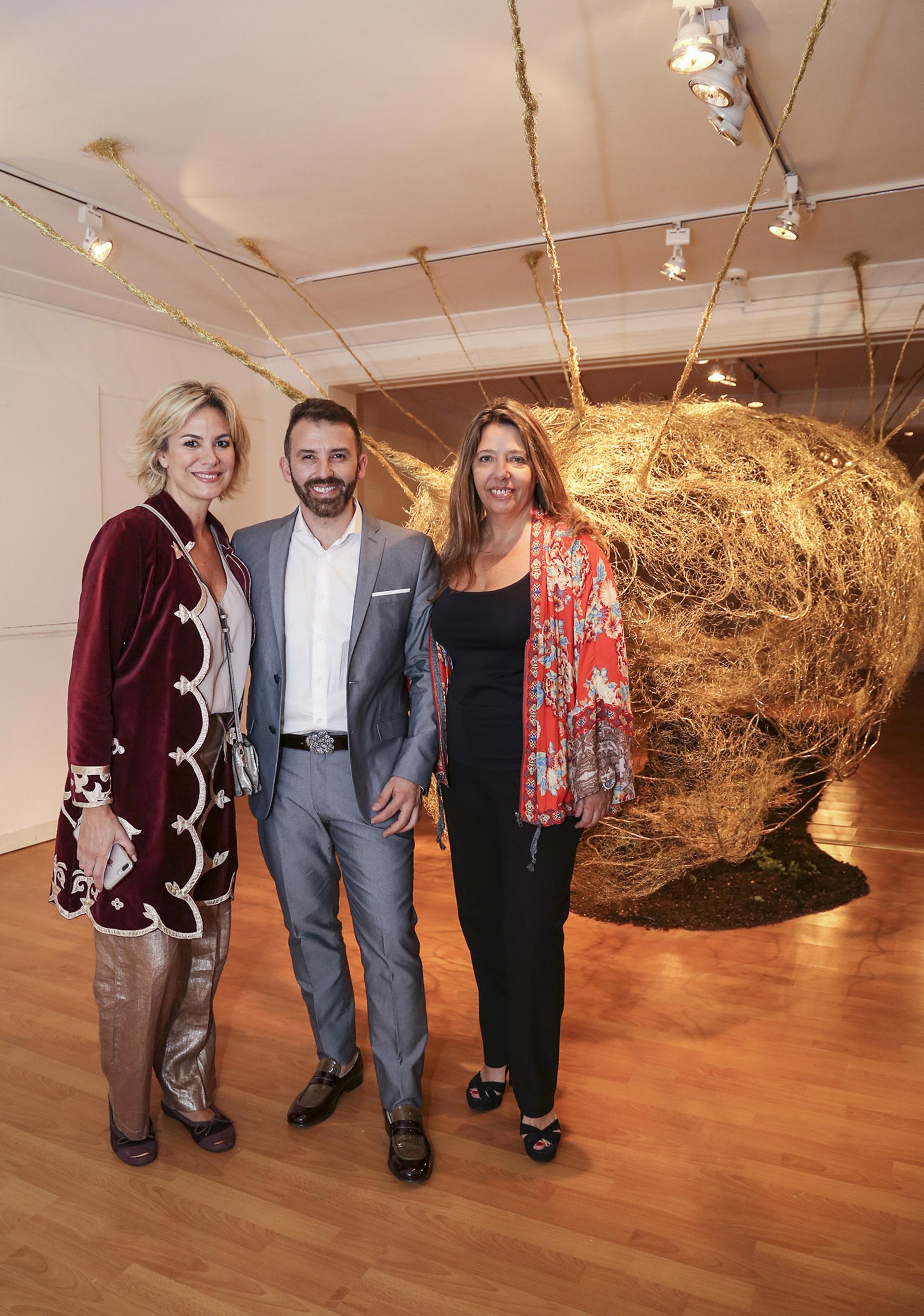 Florencia Florio, Marcelo Toledo y María Claudia Pedrayes