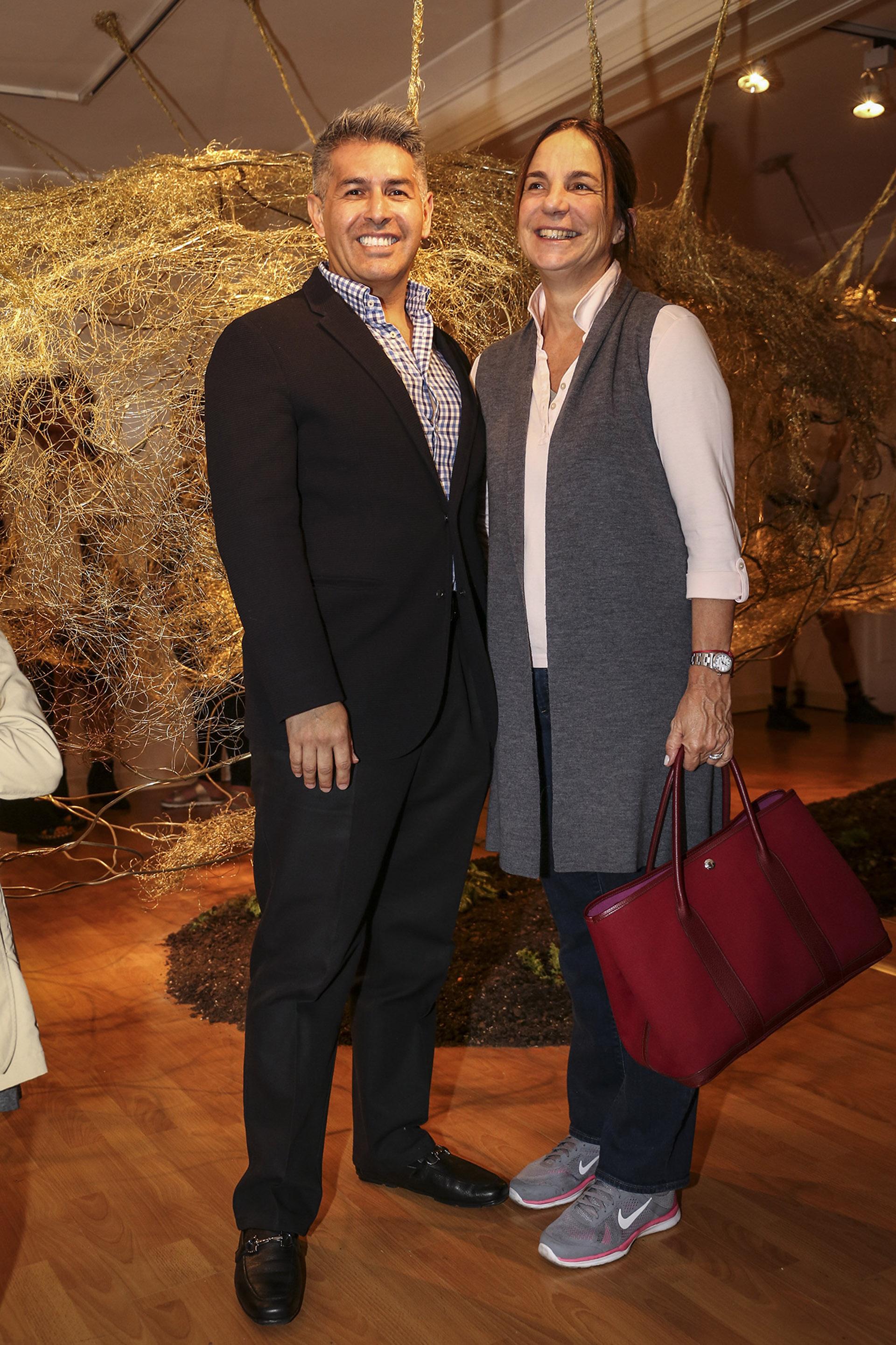 Daniel Ozan y María Blaquier