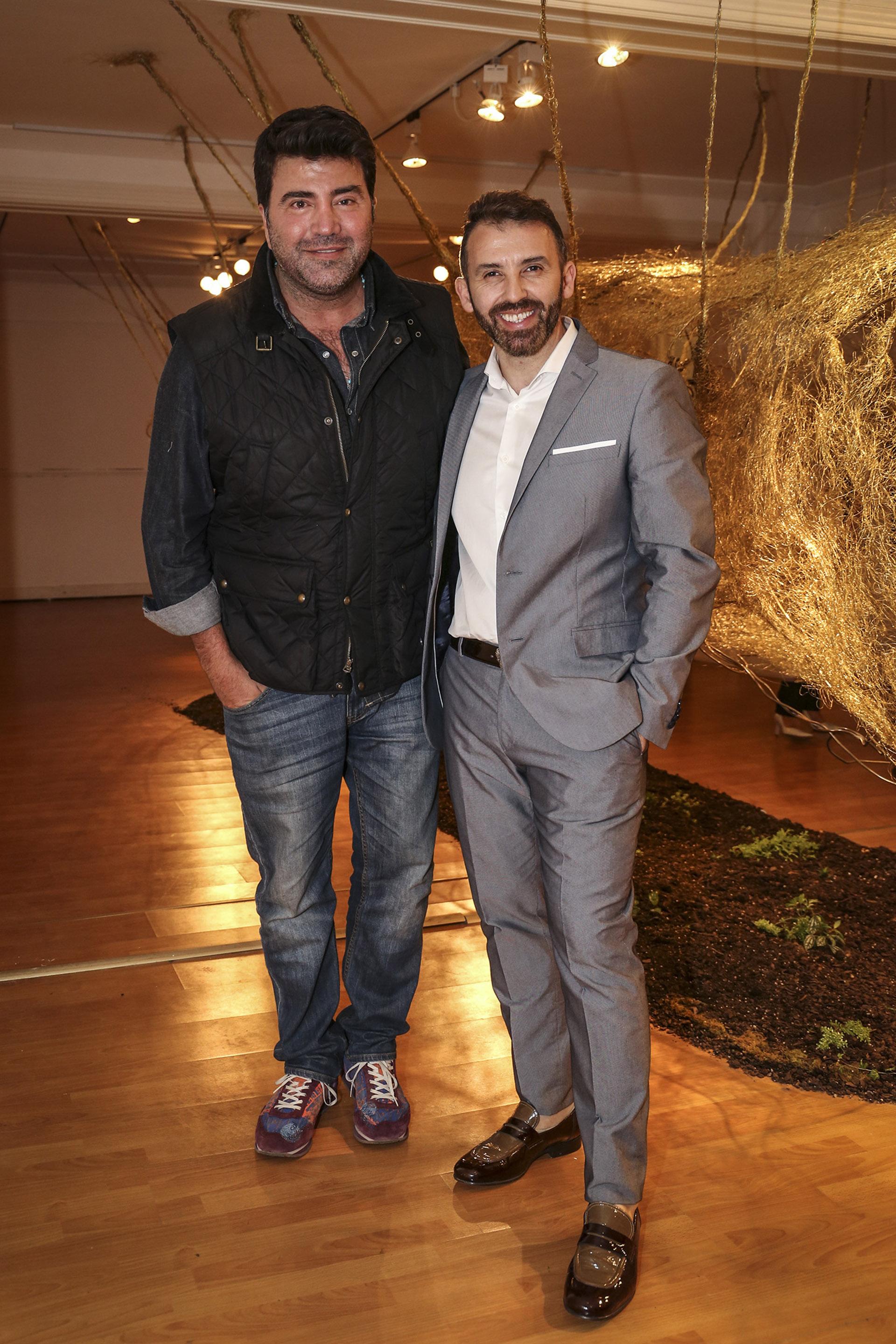 Javier Saiach y Marcelo Toledo