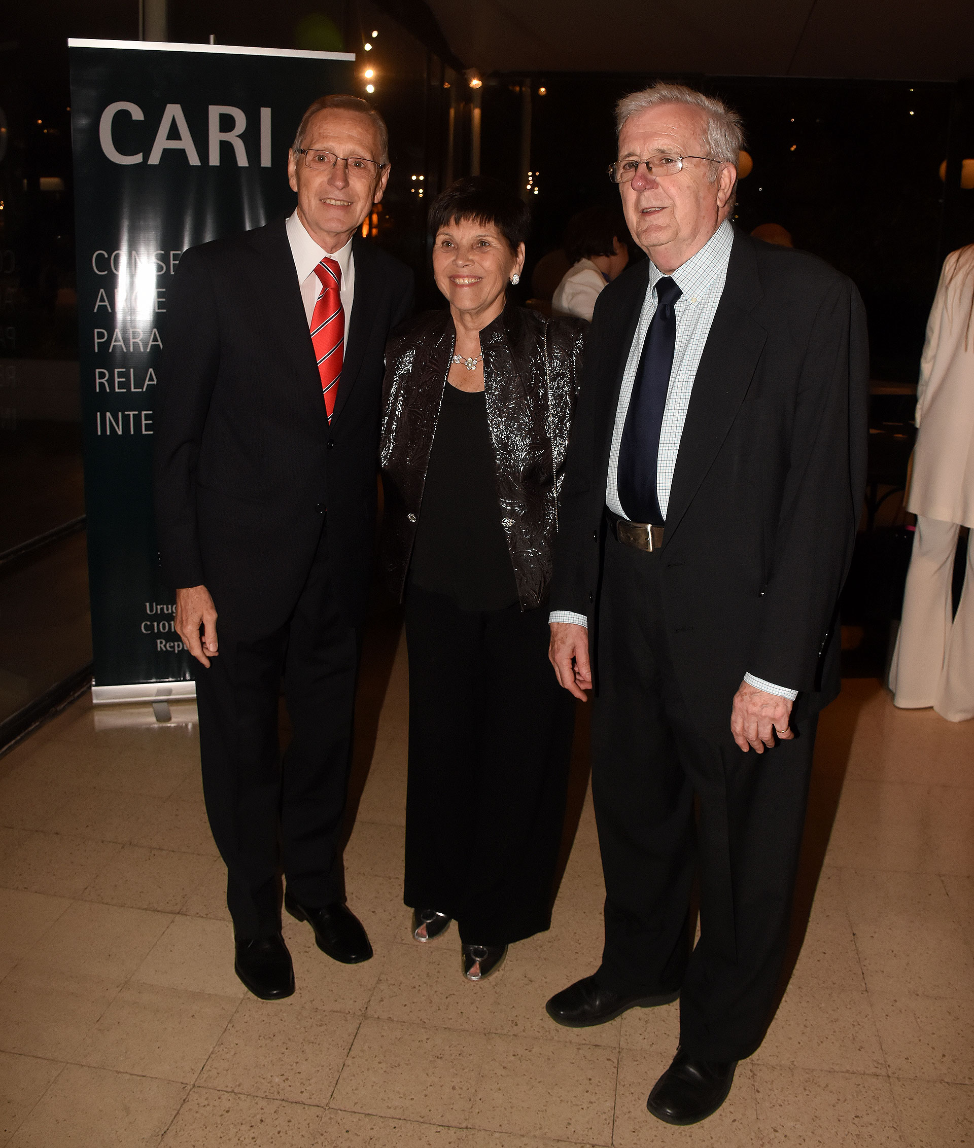 Adalberto Rodríguez Giavarini, Susana Pestana y Félix Peña