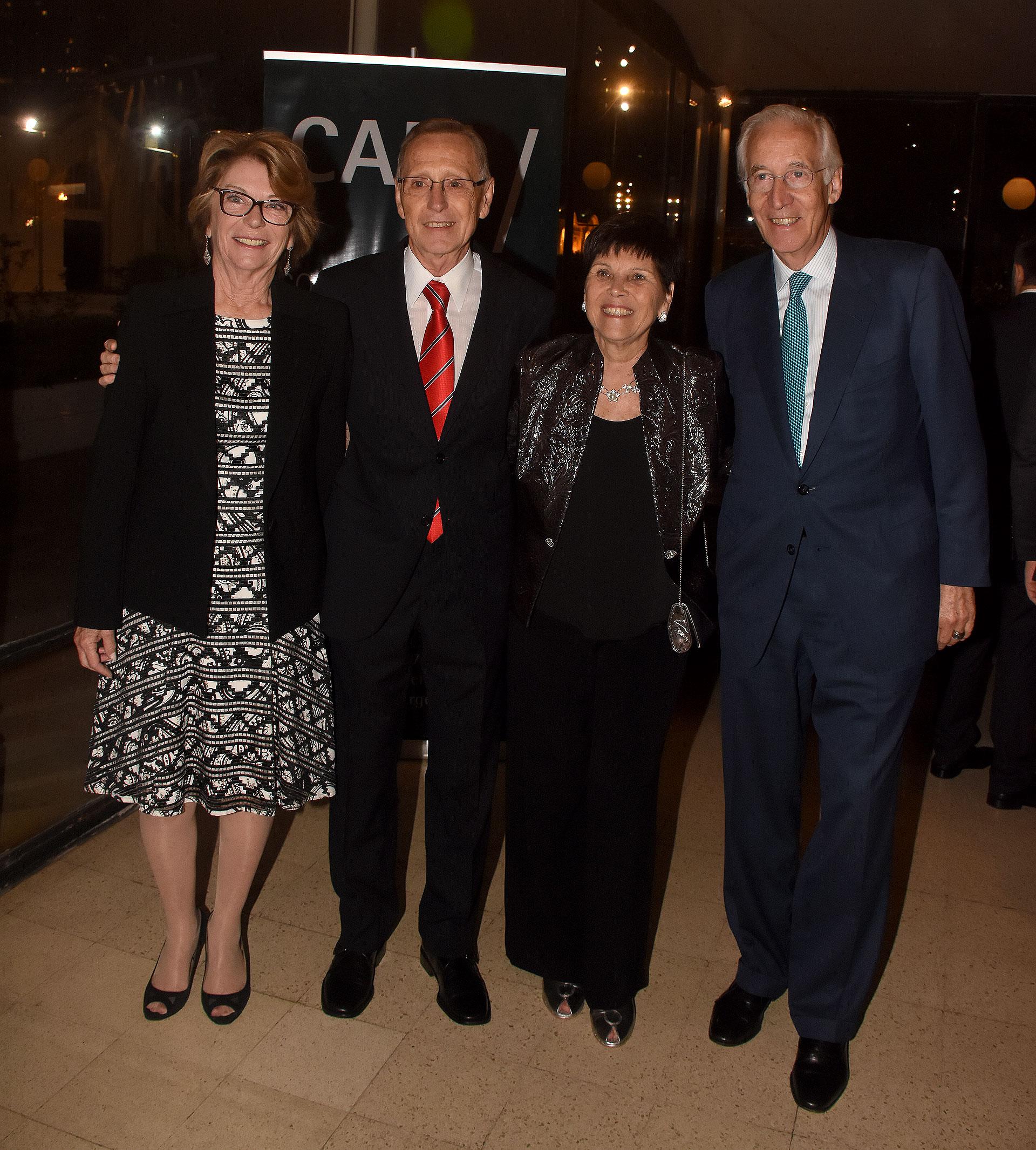 Adalberto Rodríguez Giavarini, Susana Pestana y Andrés von Buch /// Fotos: Nicolás Stulberg