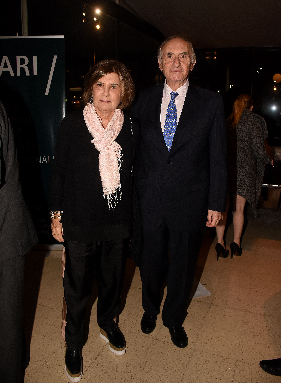 El ex presidente Fernando De la Rúa y su mujer Inés Pertiné