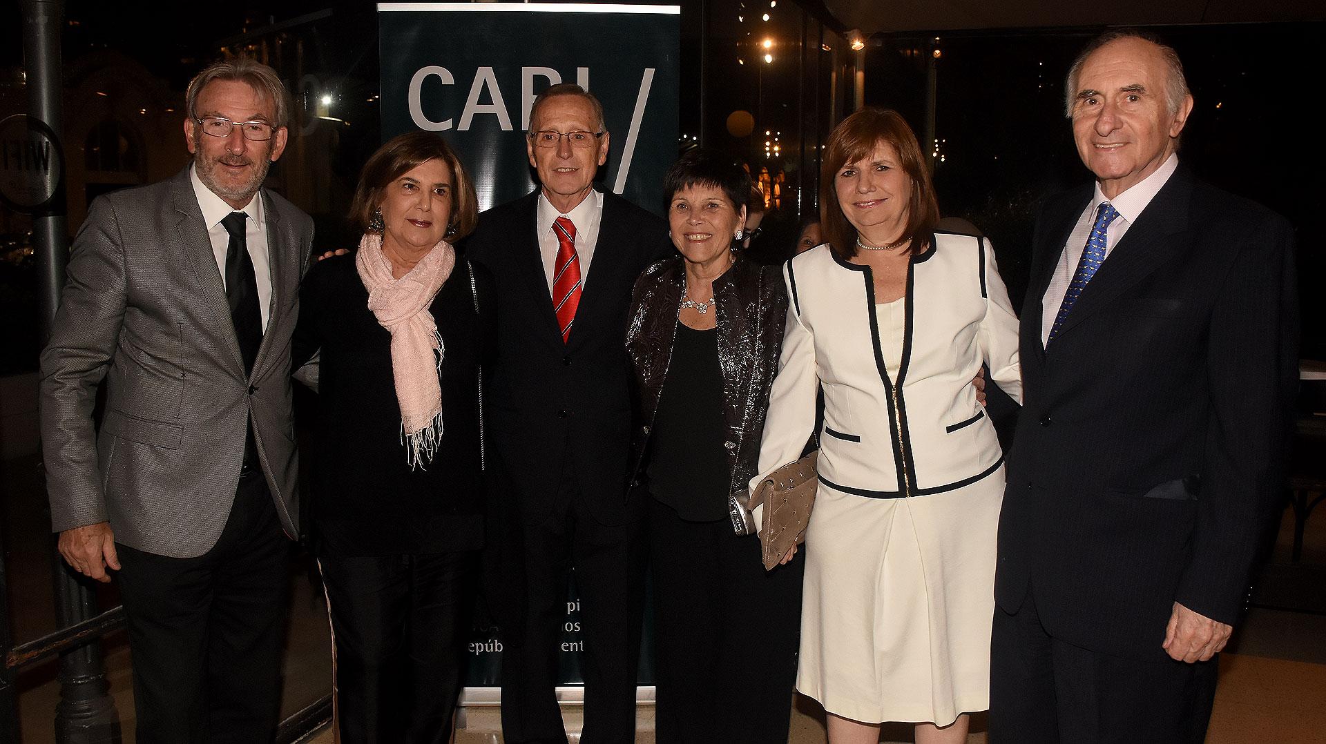 Guillermo Yanco, Inés Pertiné, Adalberto Rodríguez Giavarini, Susana Pestana, Patricia Bullrich y Fernando De la Rúa