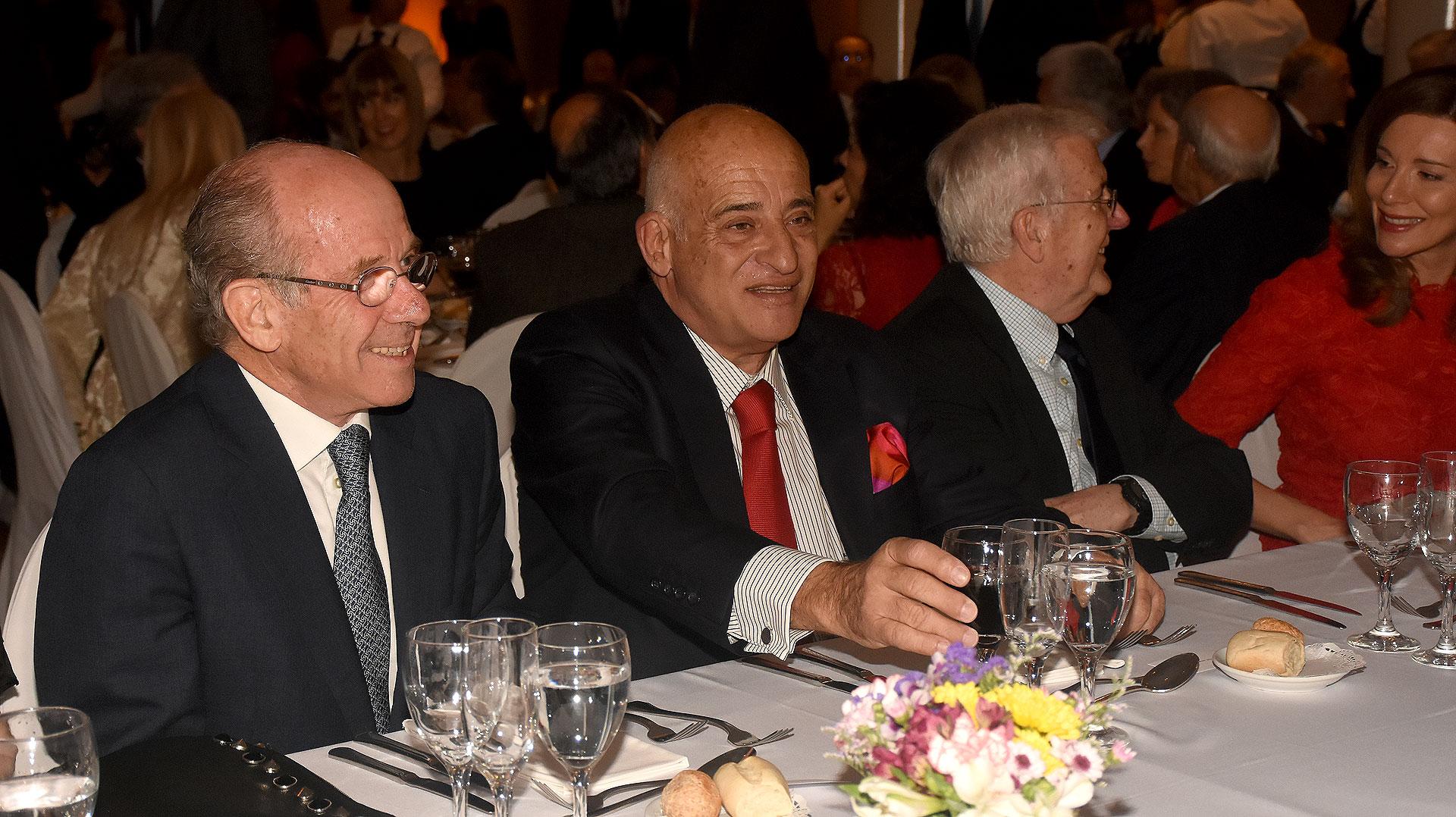 Jorge Mandelbaum y Aníbal Jozami