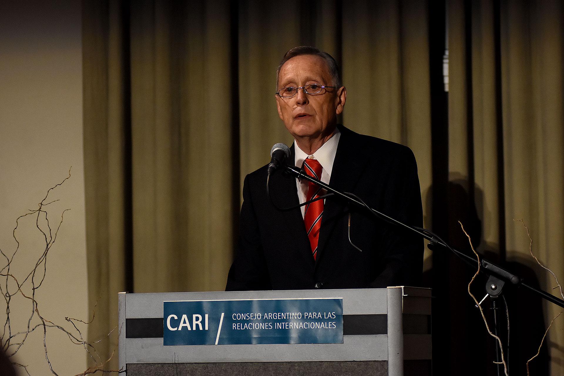 El presidente del Consejo Argentino para las Relaciones Internacionales, Adalberto Rodríguez Giavarini