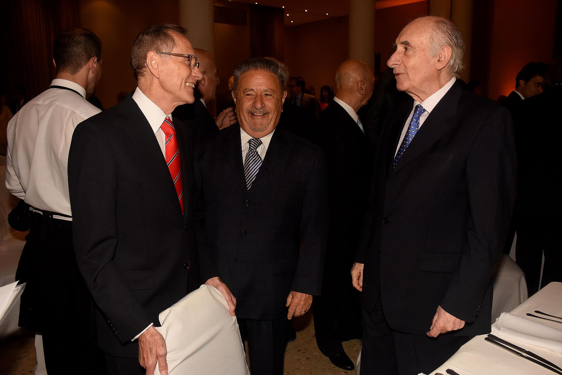 Adalberto Rodríguez Giavarini, Eduardo Duhalde y Fernando De la Rúa