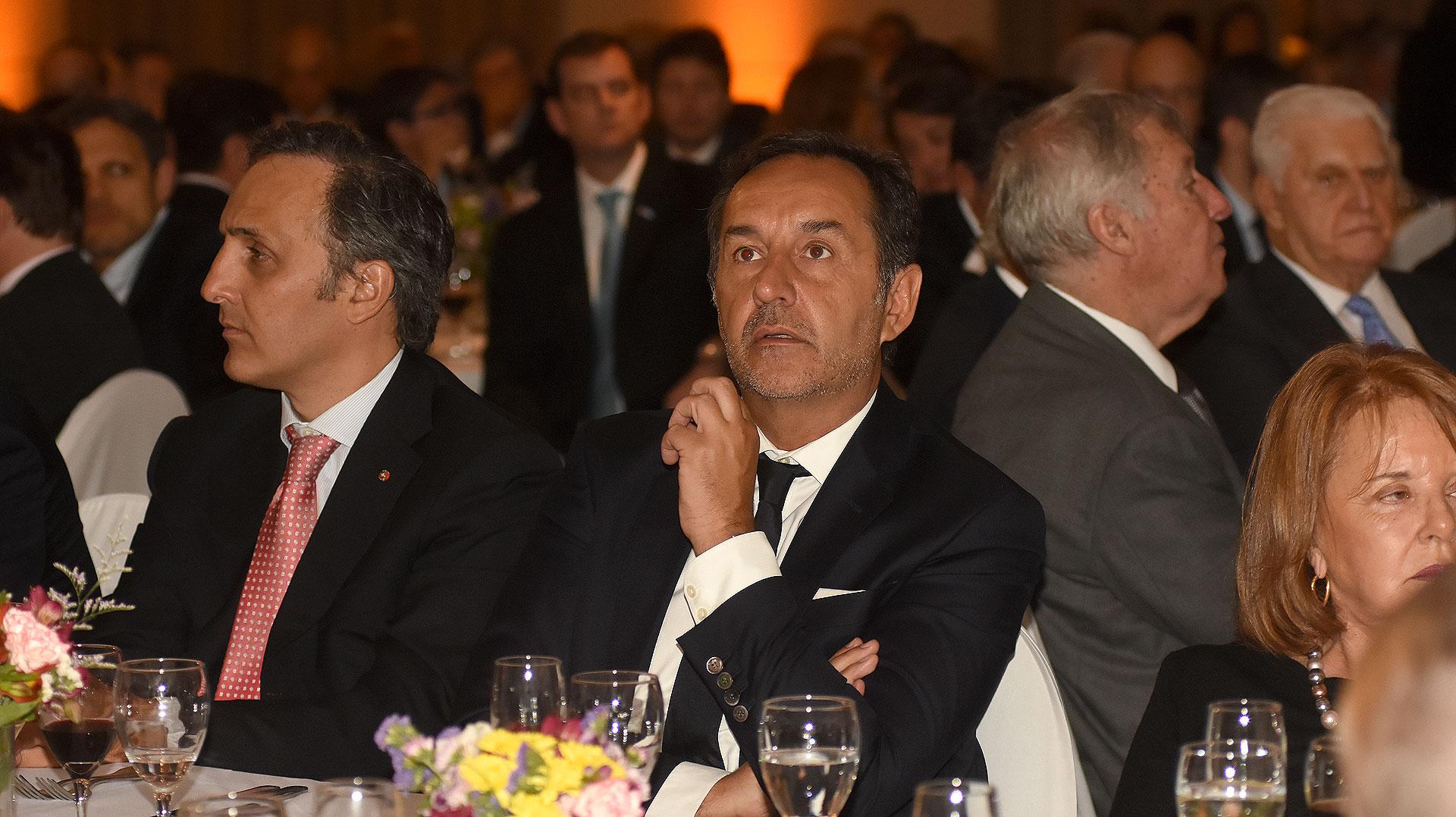 Marcos Bulgheroni y Fulvio Pompeo, secretario de Asuntos Estratégicos Internacionales – Jefatura de Gabinete