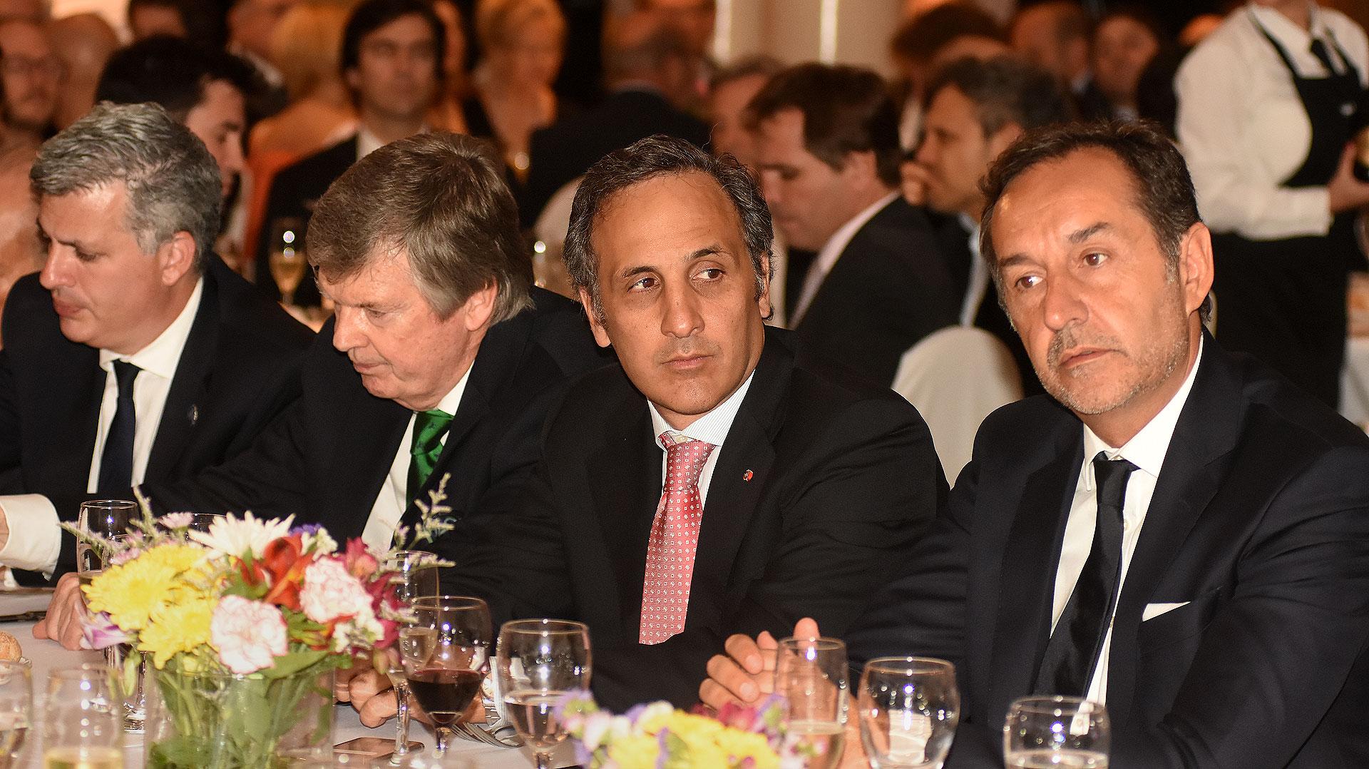 Marcelo Scaglione, Guillermo Stanley, Marcos Bulgheroni y Fulvio Pompeo