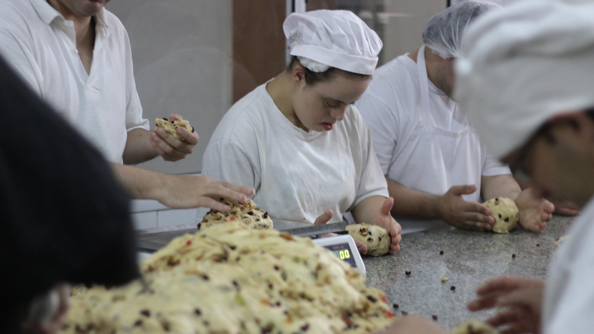 Hay tres tamaños de panes: individuales, de 1/2 y 3/4 kilo. (Lihue Althabe)