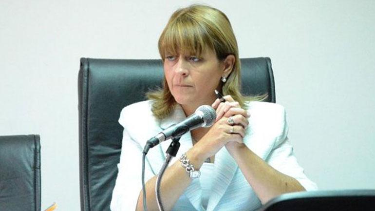 La jueza Marta Yañez, a cargo de la investigación de la desaparición del Ara San Juan