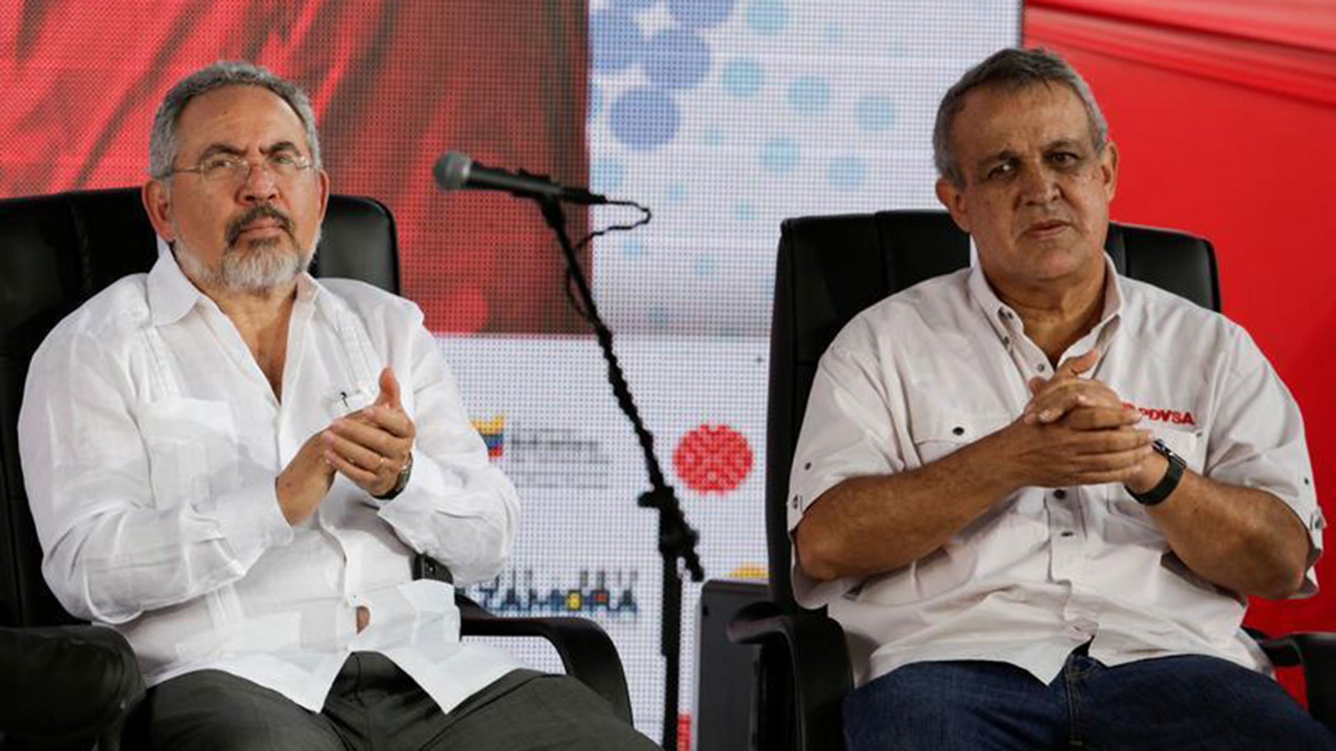 Nelson Martínez y Eulogio Pino (Reuters)