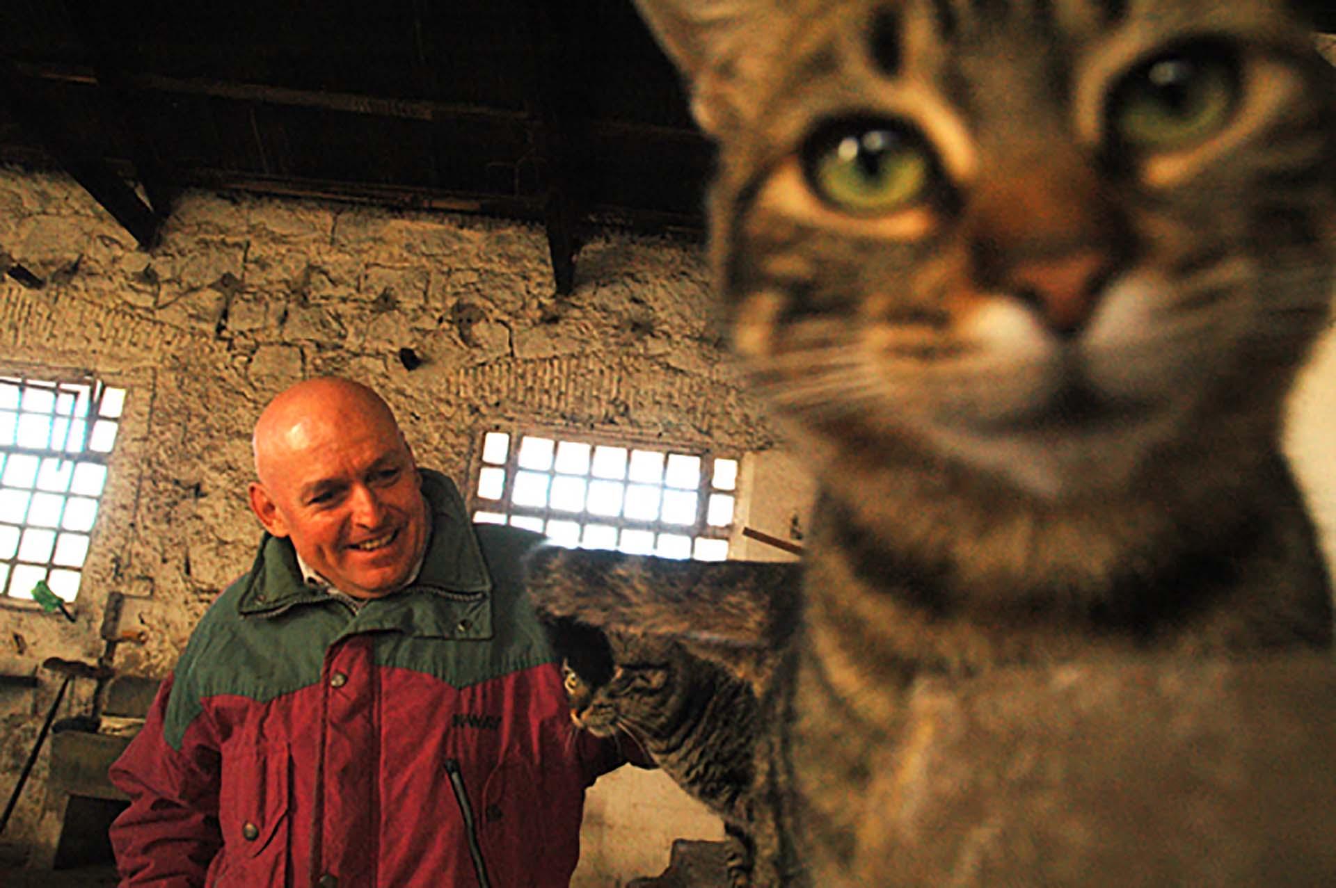 Robledo Puch en la cárcel de Sierra Chica (Foto: Diego Sandstede, Editorial Random House Mondadori)