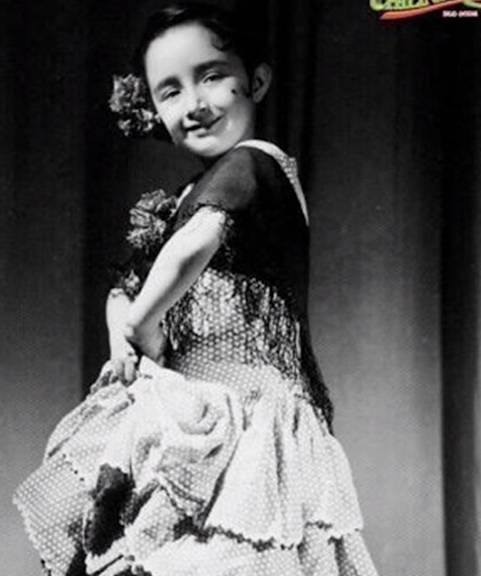 Desde muy chica, María Antonieta supo que quería ser acrtiz