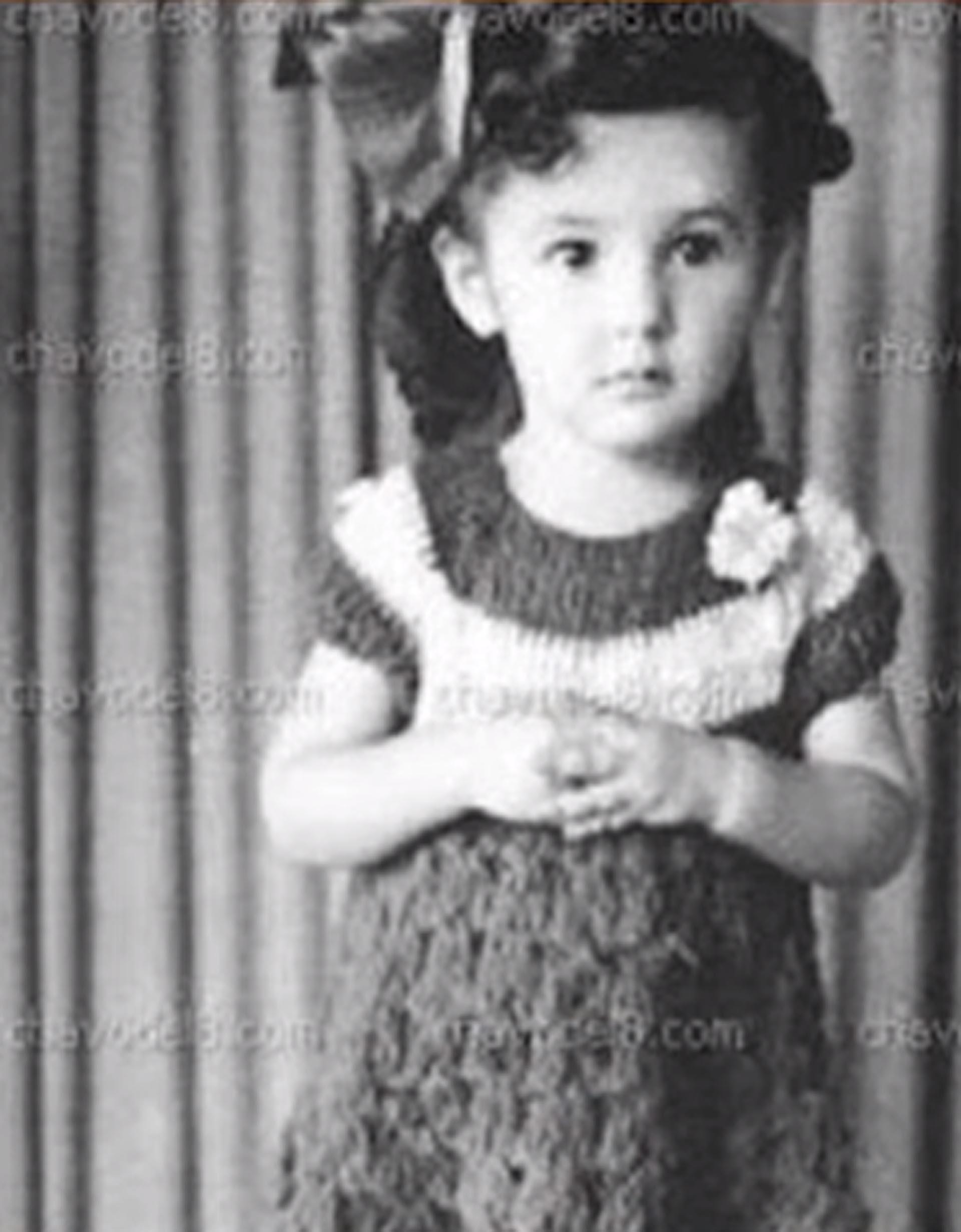 Florinda Meza, de chica