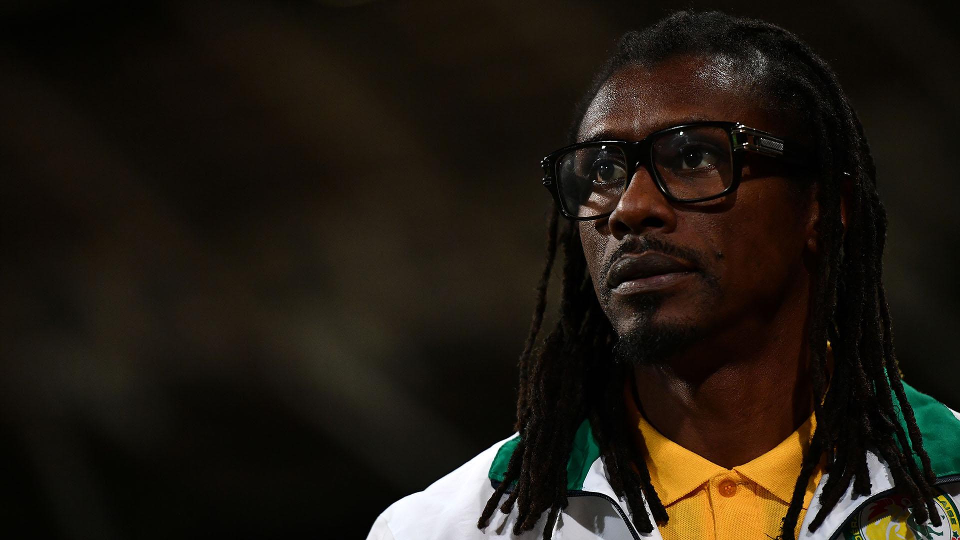 Aliou Cissé es el entrenador de Senegal, rival de Colombia en el Mundial (Getty Images)