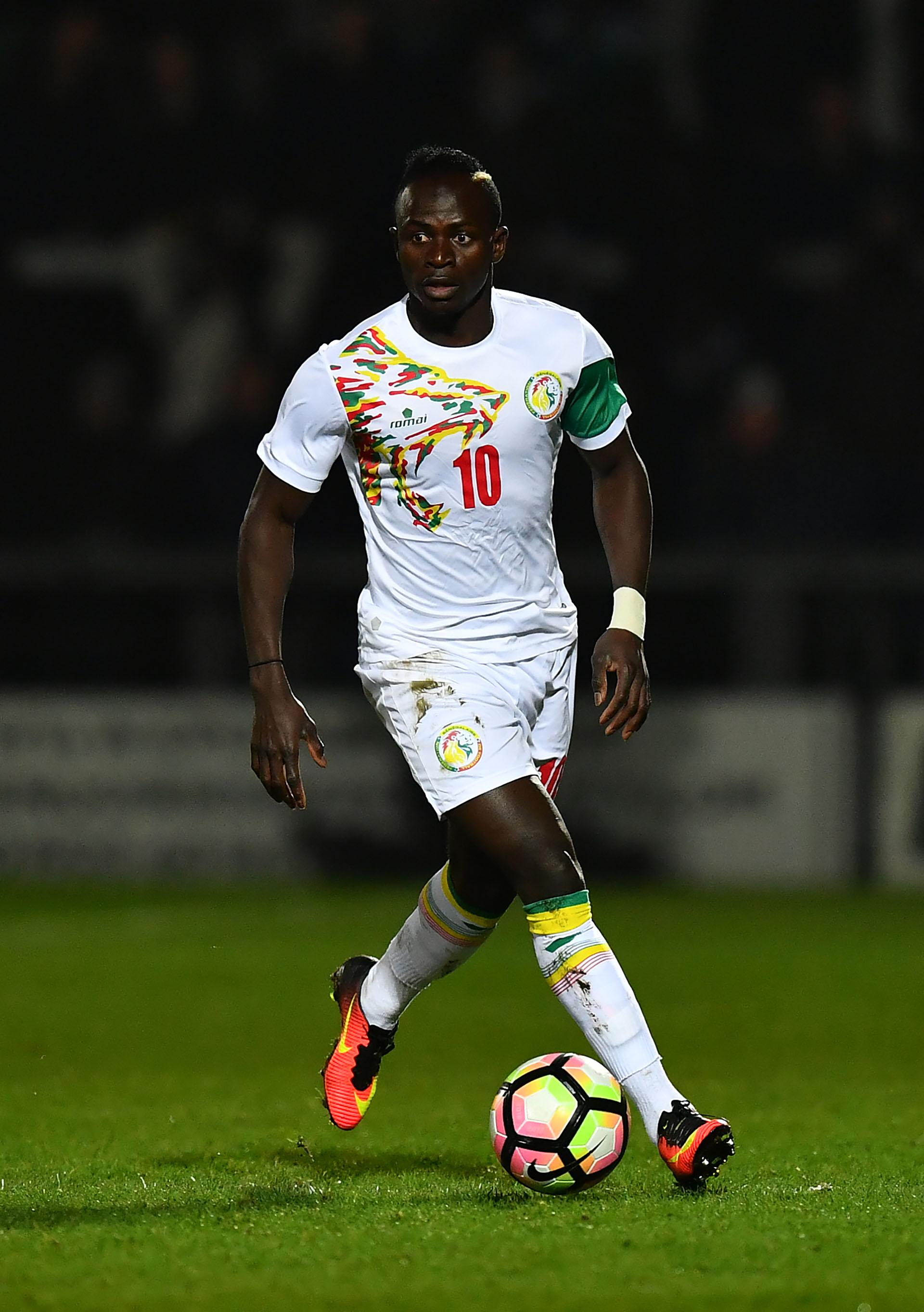 Sadio Mané, delantero del Liverpool, es la máxima figura de Senegal (Getty Images)