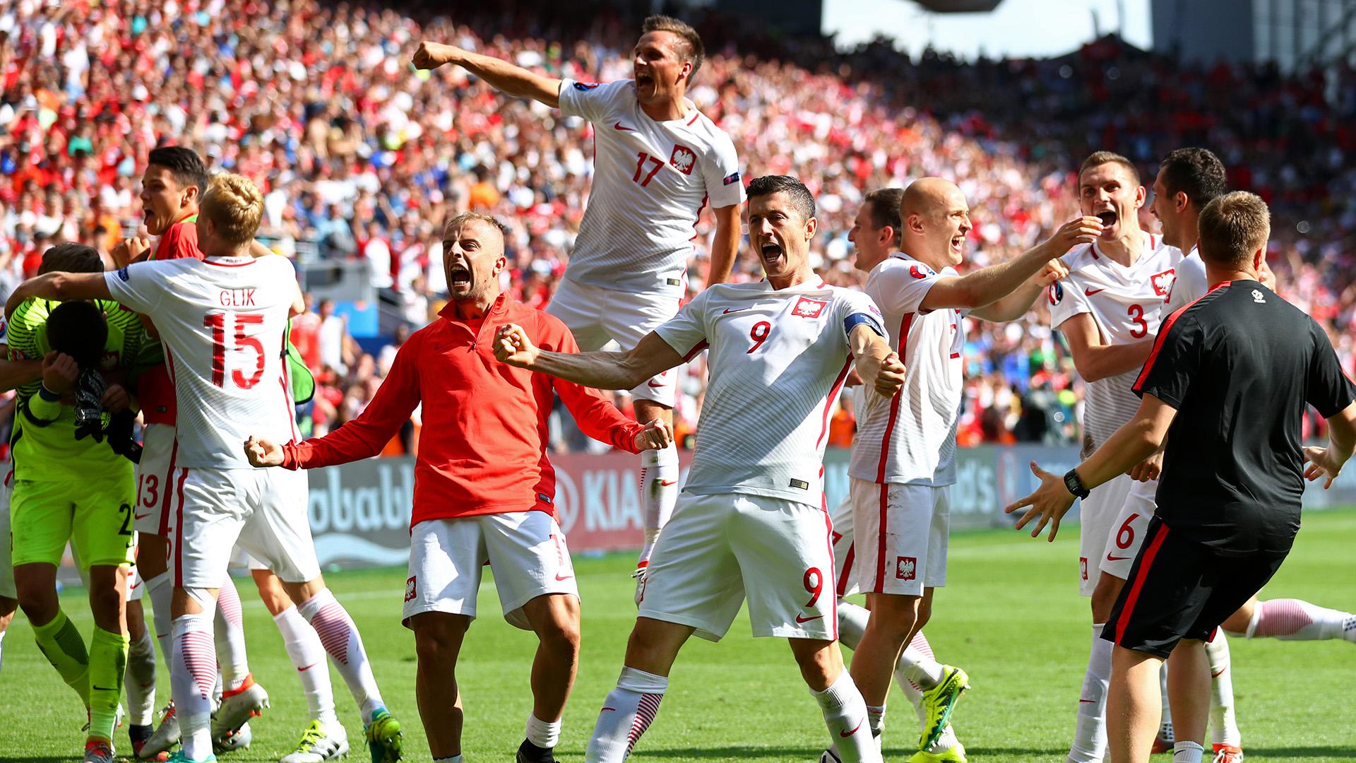 Lewandowski es el capitán de Polonia y fue el máximo goleador de las Eliminatorias de la UEFA (16 goles) (Getty Images)