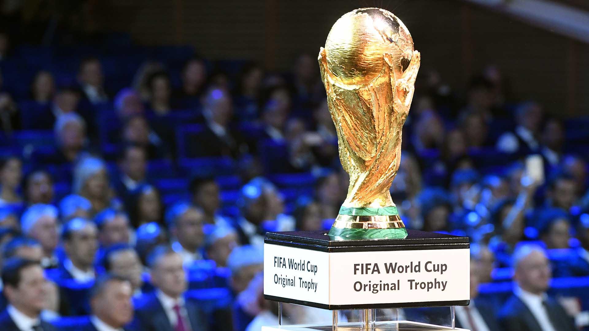 El sueño de todos: la copa que todo quieren levantar en Moscú(AFP Photo/ Alexander Nemenov)