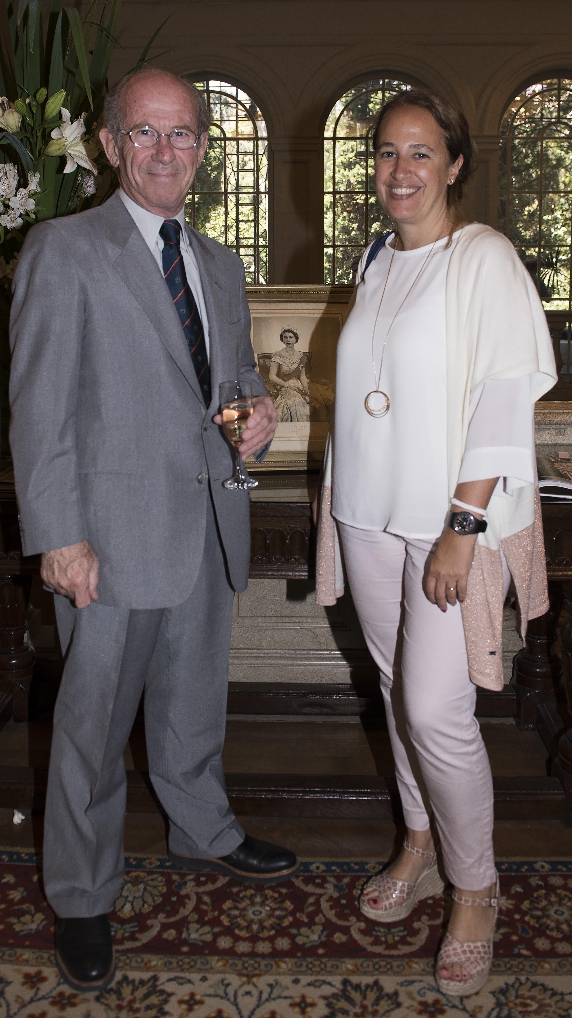 Jorge Mandelbaum, presidente de CIPPEC, y Mercedes Méndez Ribas, directora de Desarrollo Institucional de CIPPEC