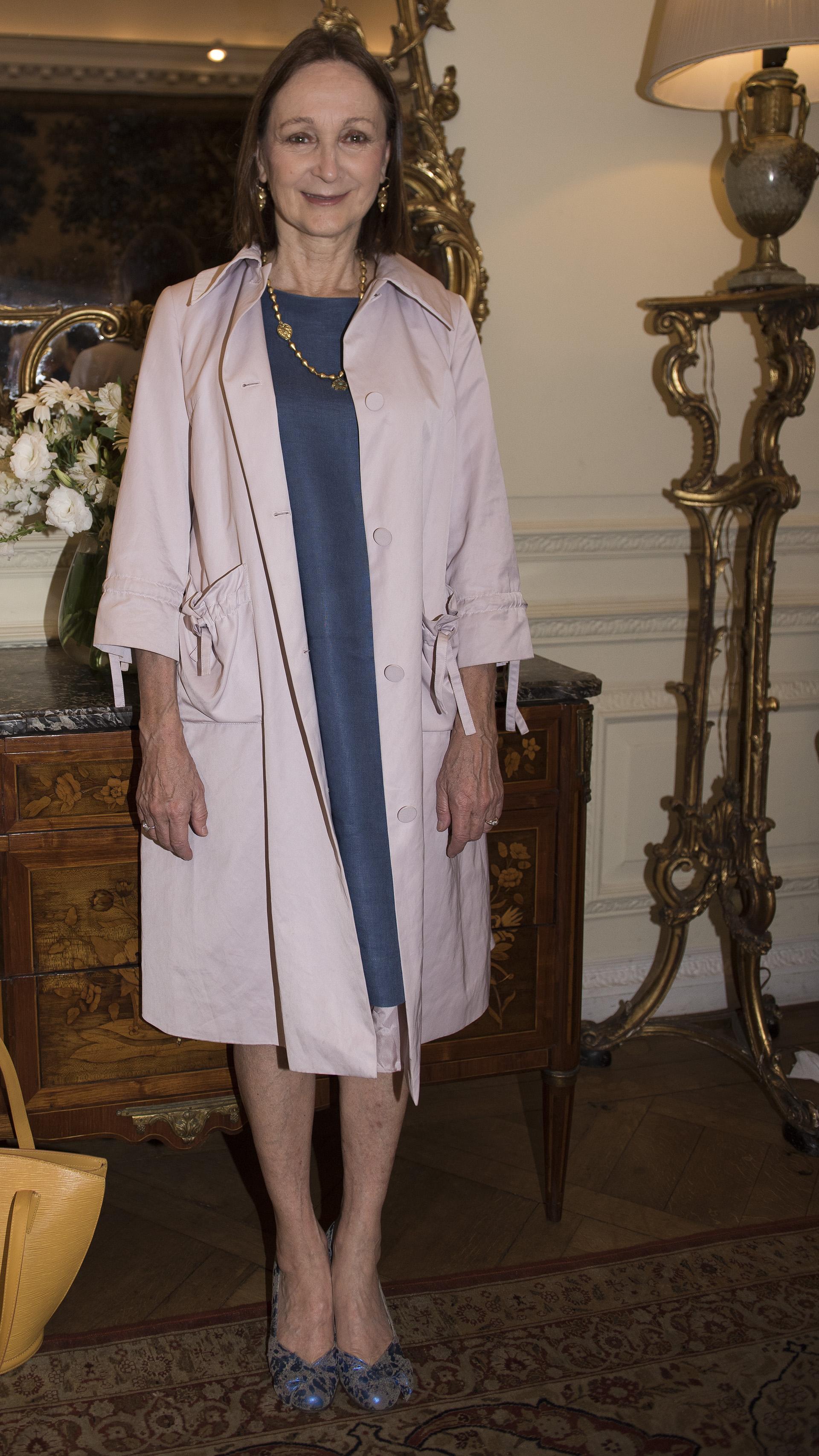 Teresa Anchorena, presidenta de la Comisión Nacional de Monumentos, de Lugares y de Bienes Históricos