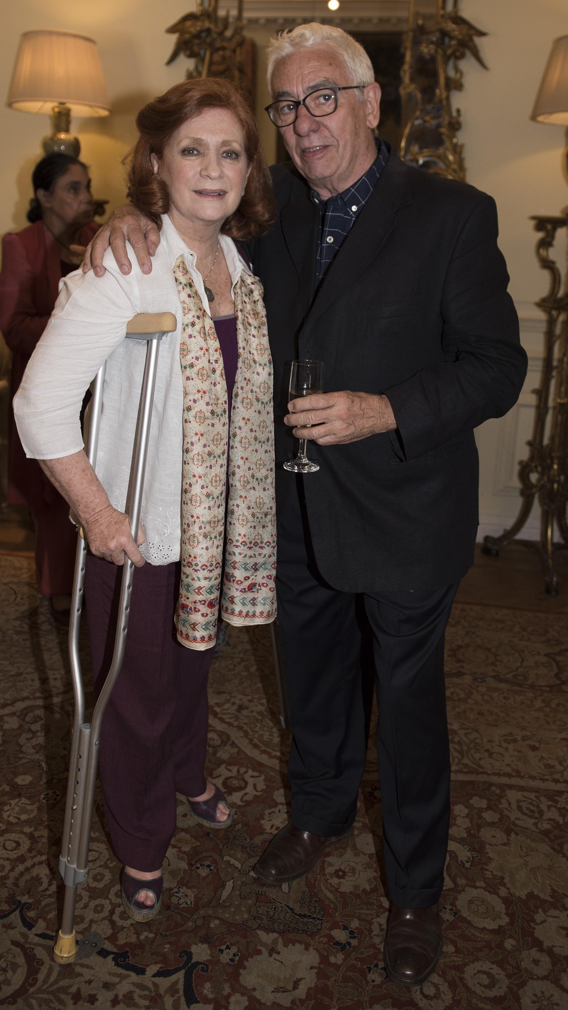 Teresa González Fernández y Juan Carlos Pallarols