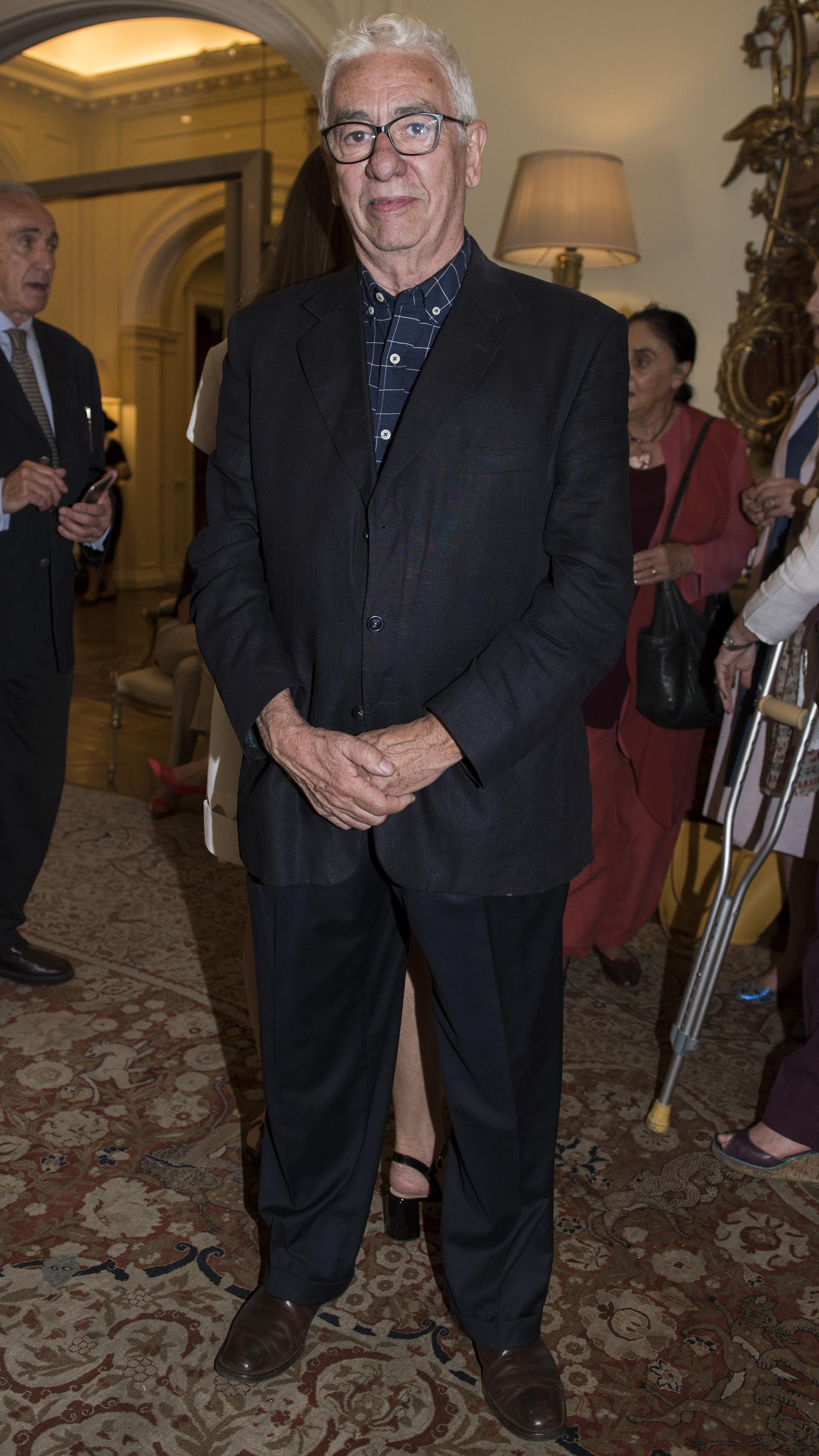 El orfebre Juan Carlos Pallarols
