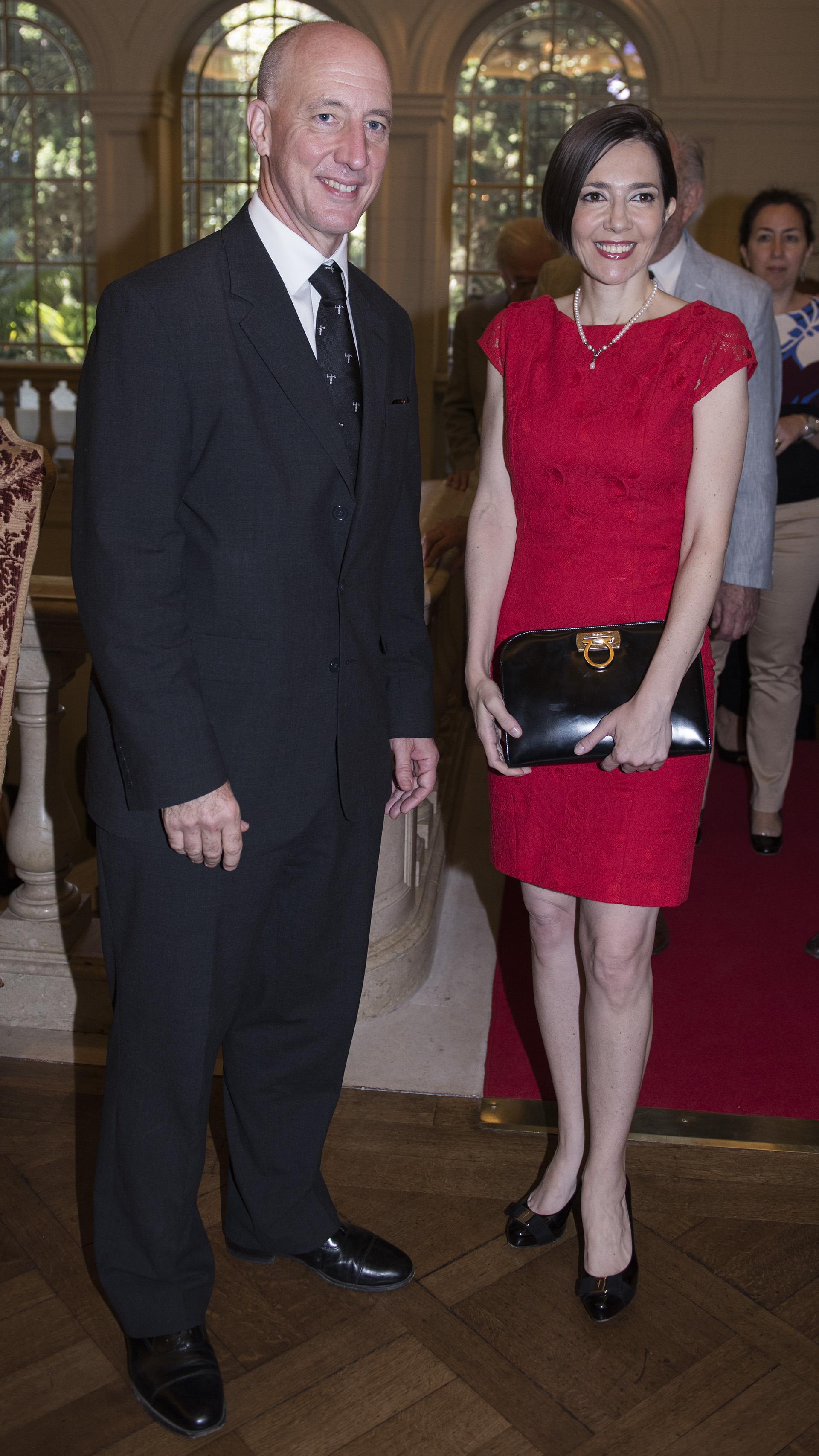 Mark Kent y Cristina Pérez