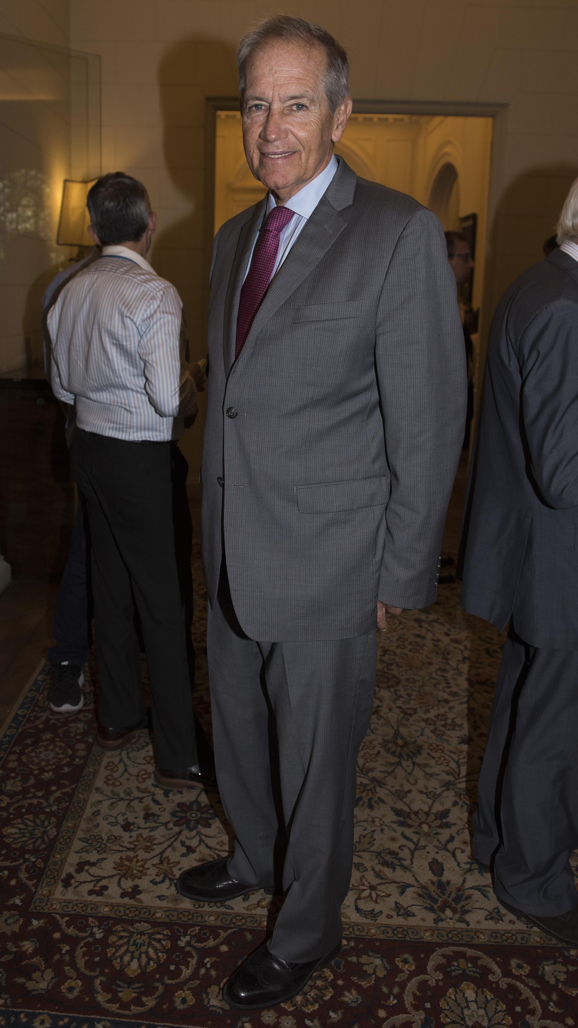 Julián Rooney, presidente de la Cámara de Comercio Argentino Británica