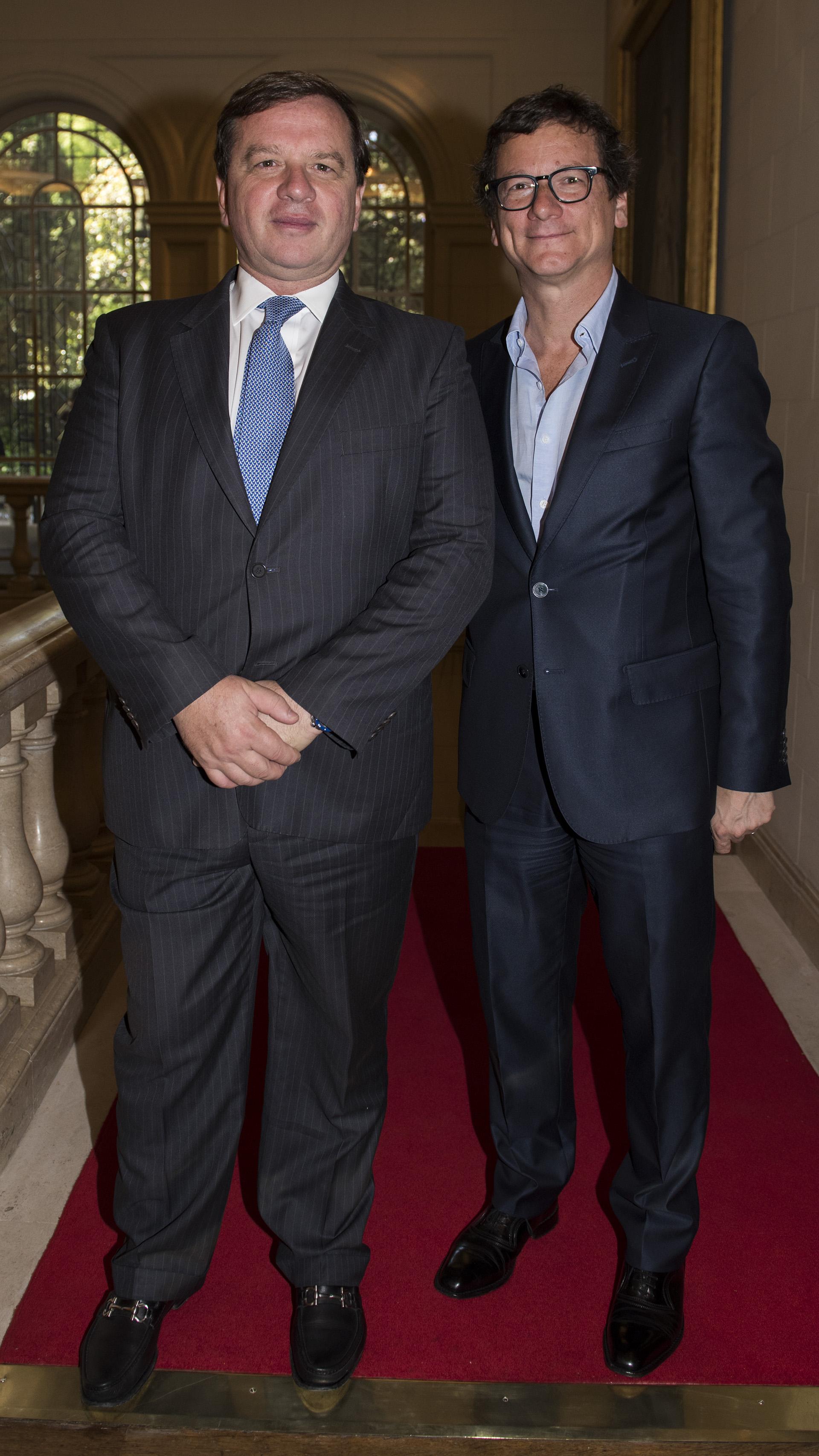 Gerardo Mato, chairman – Global Banking and Markets – Americas de HSBC, y Gabriel Martino, presidente de HSBC Argentina