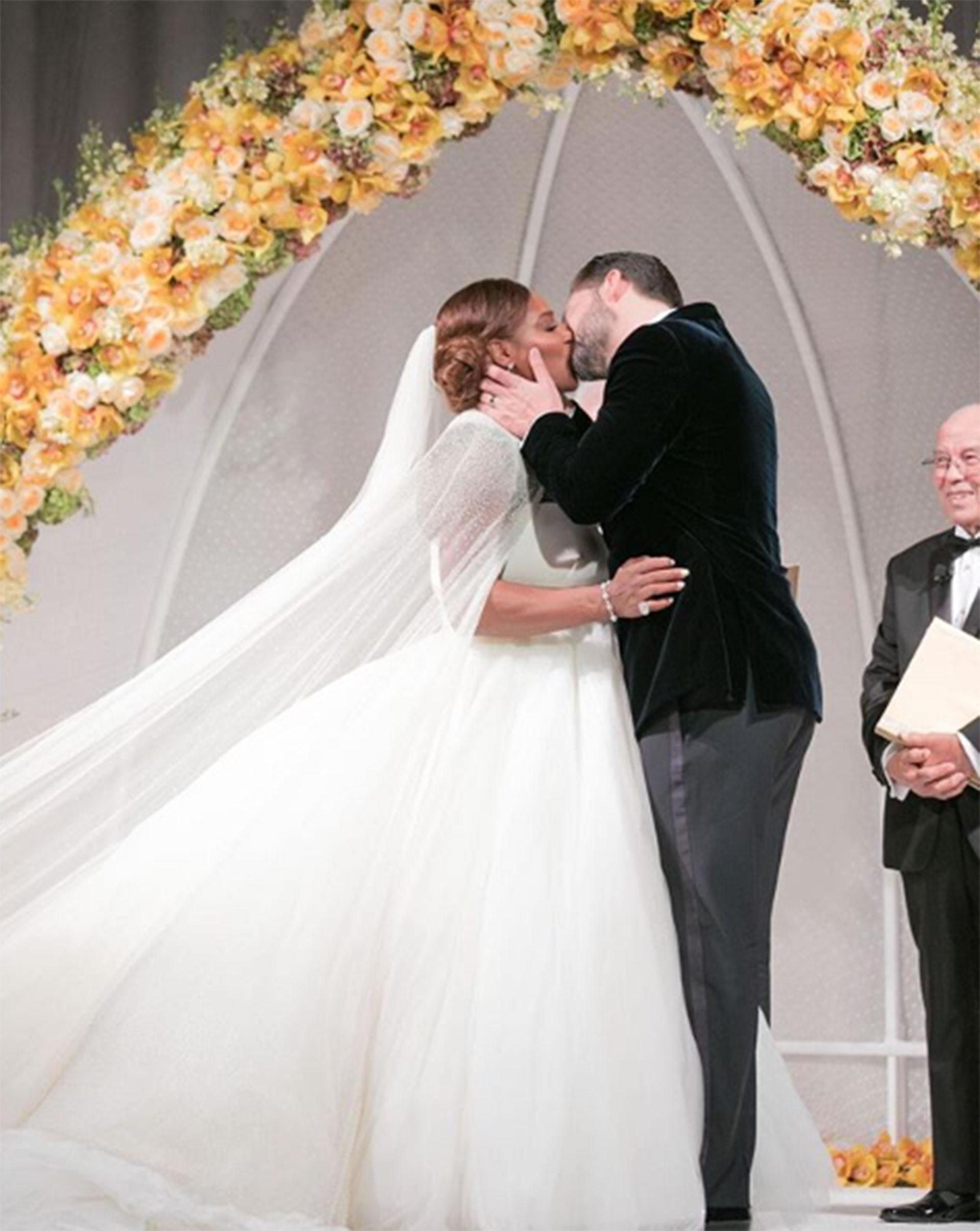 Las mejores fotos del millonario casamiento de Serena