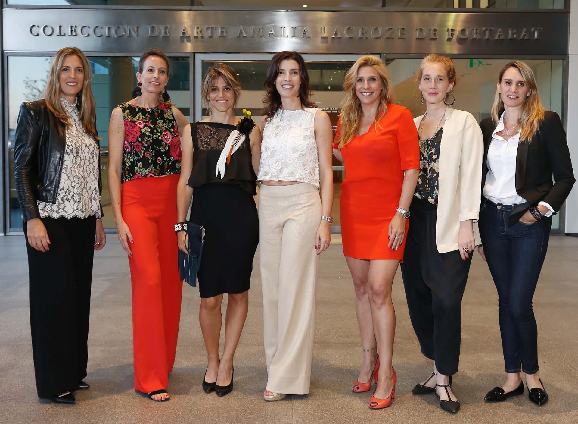 Mariana Cavalli, Lucrecia Cornejo. María Freytes, Angie Braun, Amalia Amoedo, Stefy Jaugust y Evelin Thesing