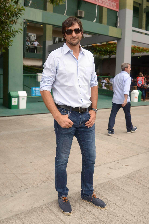 El presidente de la Asociación Argentina de Polo, Eduardo Novillo Astrada